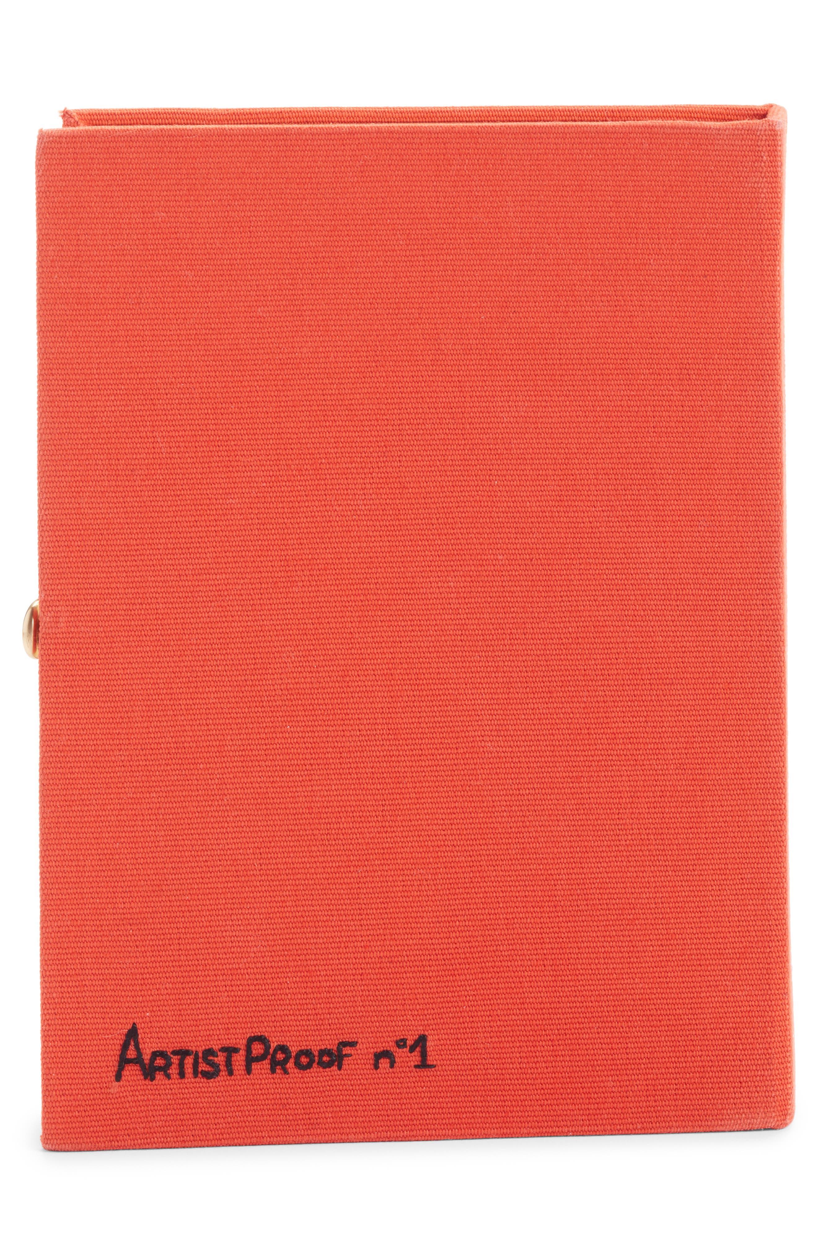 Hitchcock - 'Vertigo' Book Clutch,                             Alternate thumbnail 3, color,                             800