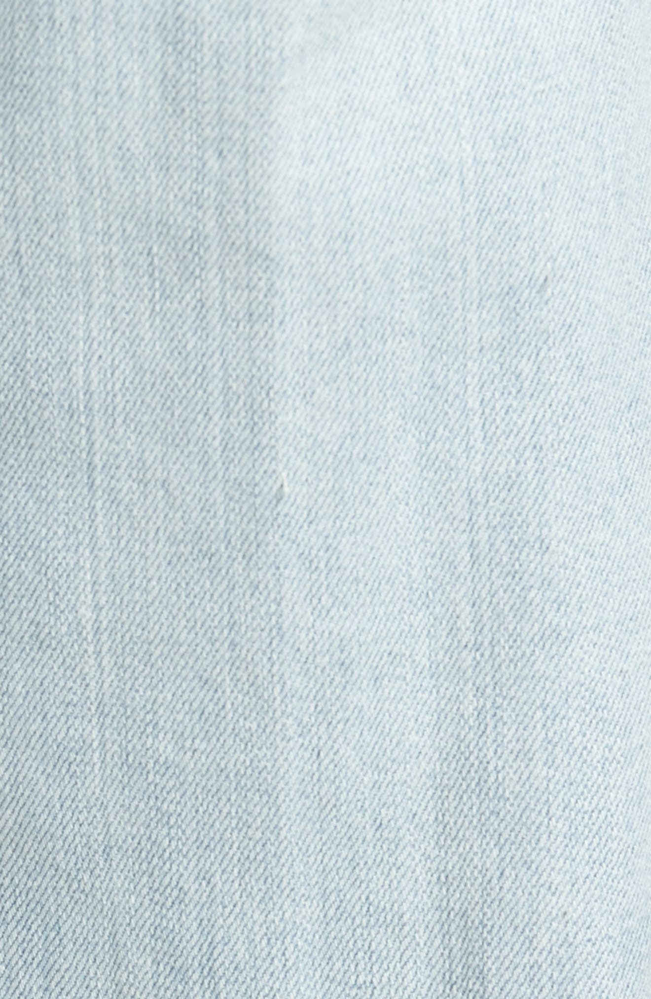 Graduate Slim Straight Leg Jeans,                             Alternate thumbnail 5, color,                             400