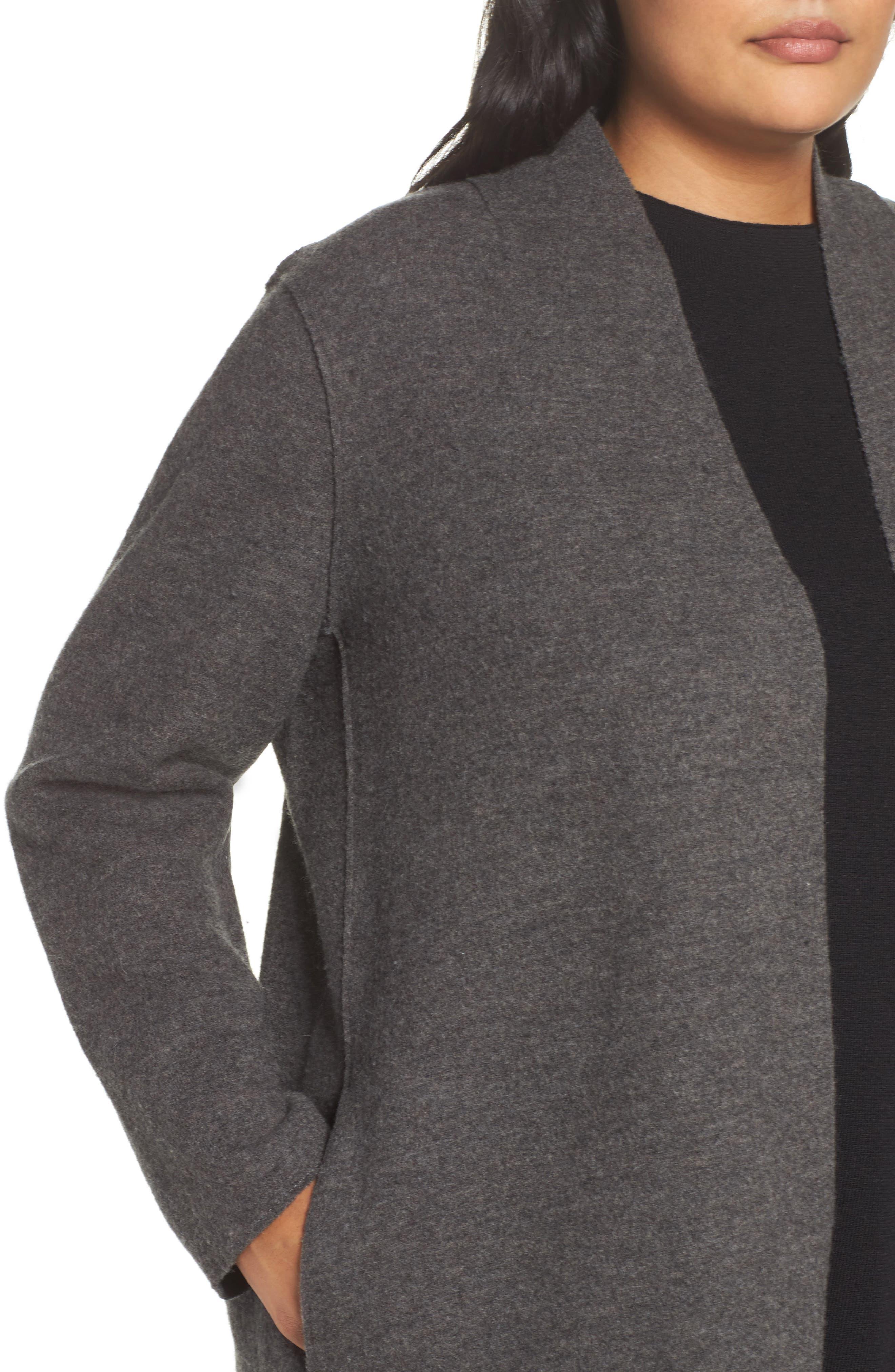 Boiled Wool Jacket,                             Alternate thumbnail 7, color,