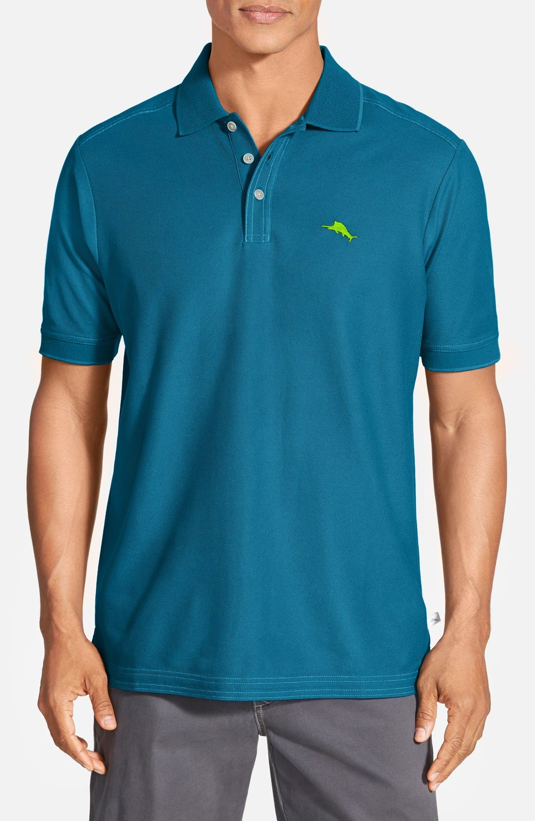 'The Emfielder' Original Fit Piqué Polo,                             Main thumbnail 55, color,