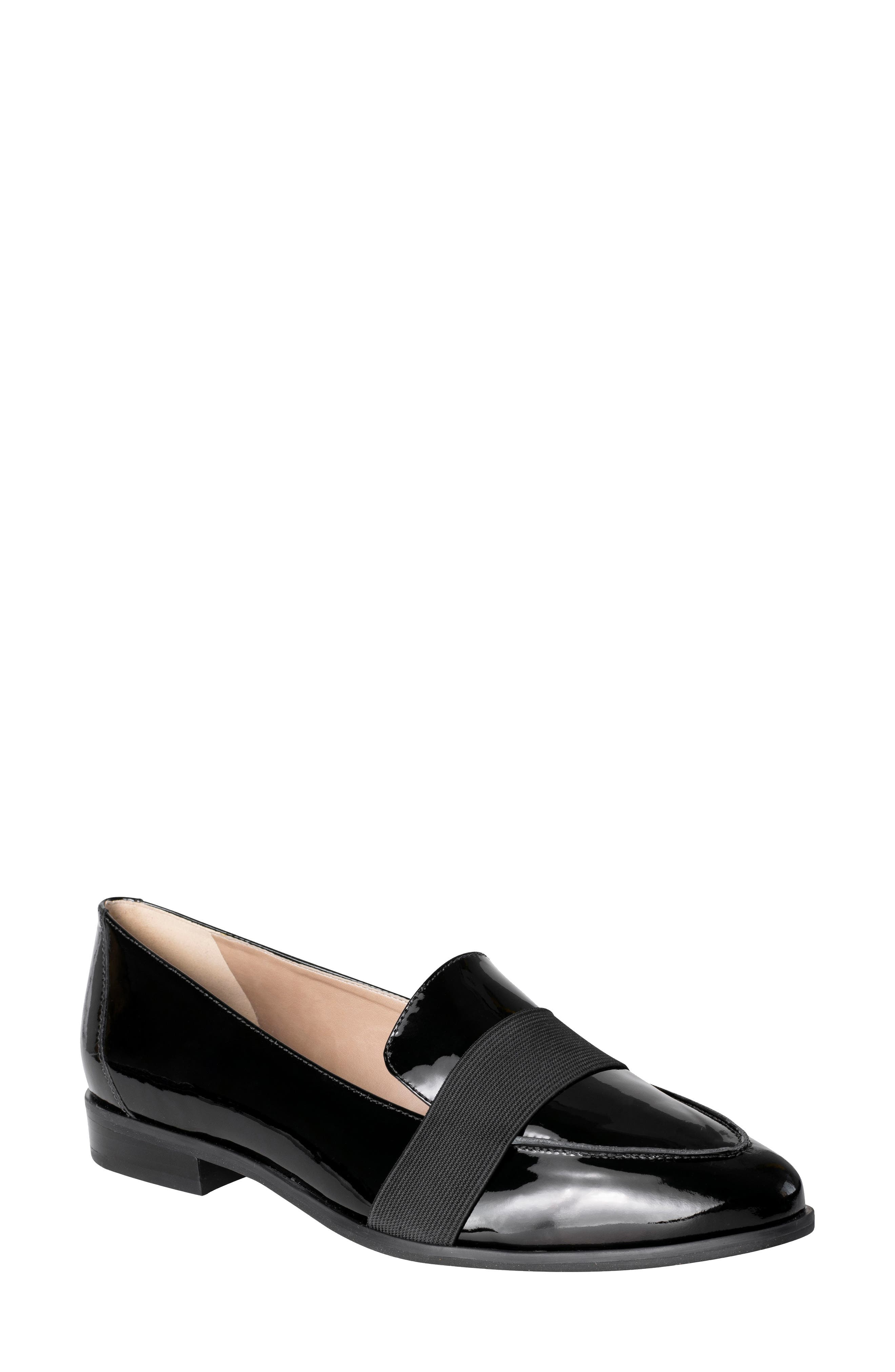 Debbie Loafer,                             Main thumbnail 1, color,                             BLACK PATENT LEATHER