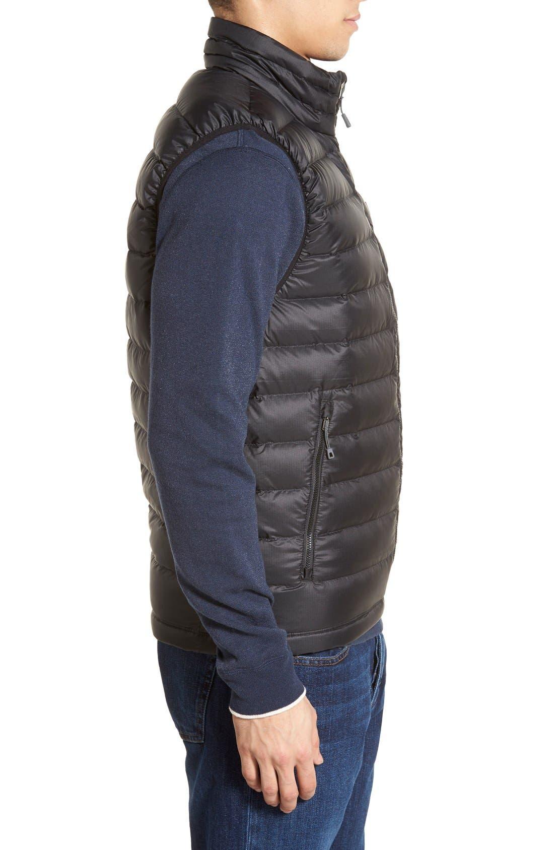 Windproof & Water Resistant 800 Fill Power Down Quilted Vest,                             Alternate thumbnail 25, color,