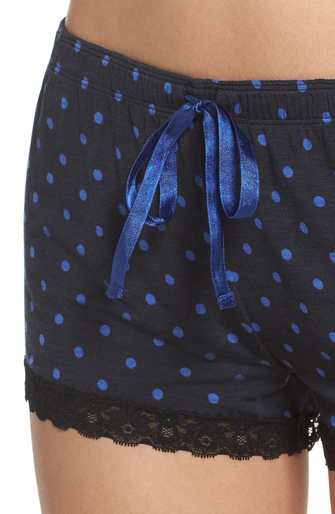 Dot Lounge Shorts,                             Alternate thumbnail 4, color,                             400