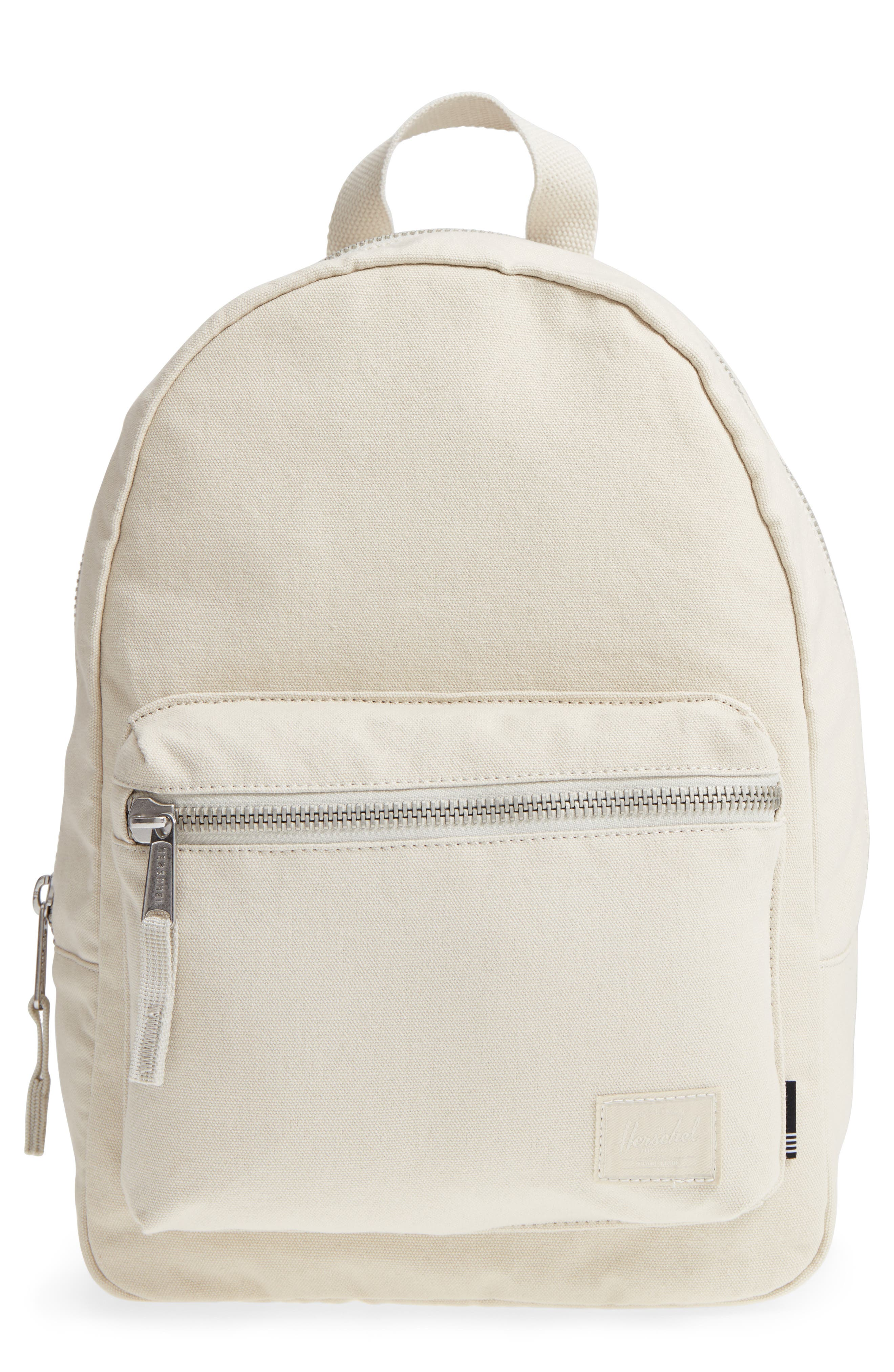 X-Small Grove Cotton Canvas Backpack,                             Main thumbnail 2, color,