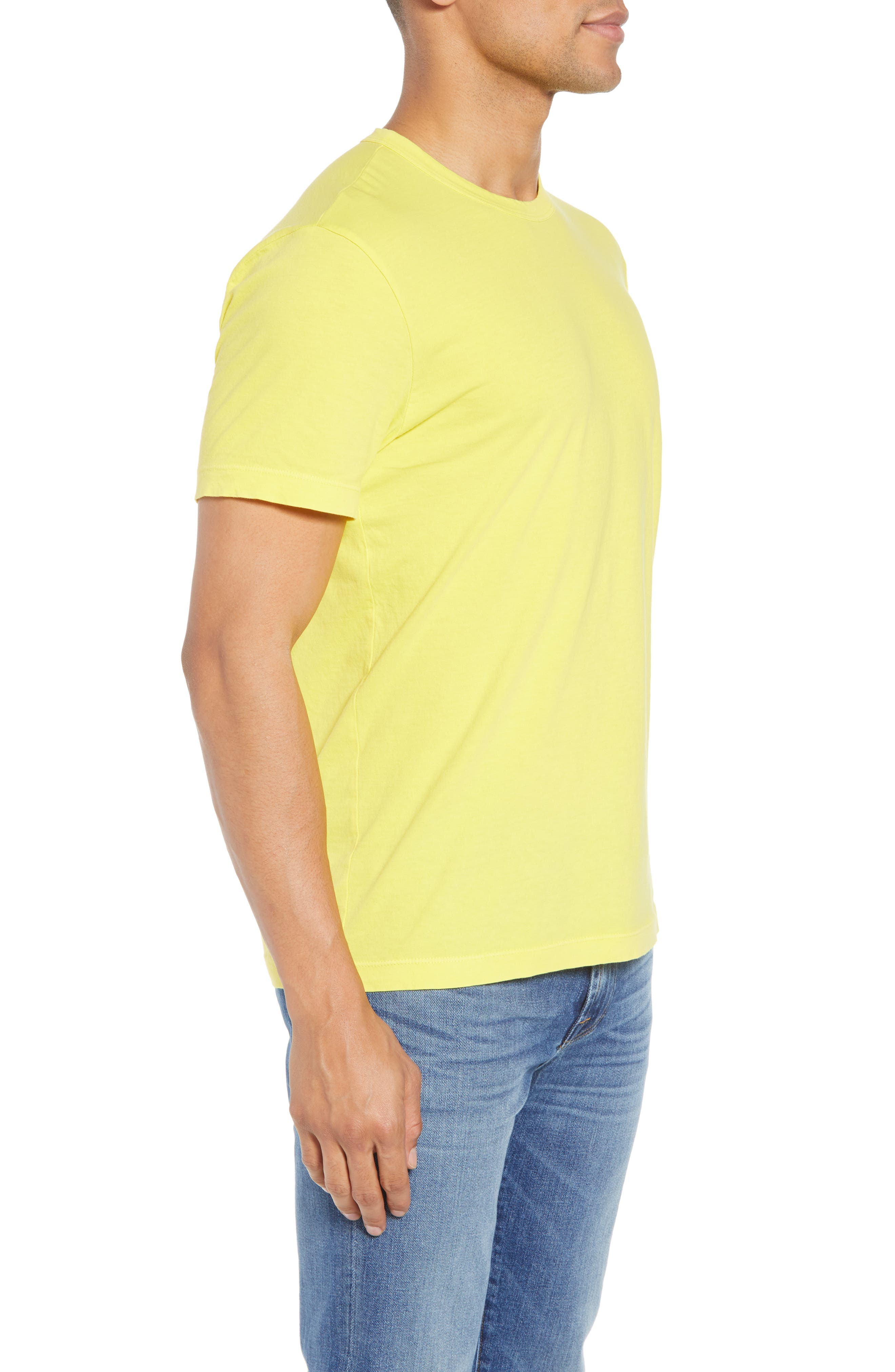 Crewneck Jersey T-Shirt,                             Alternate thumbnail 336, color,