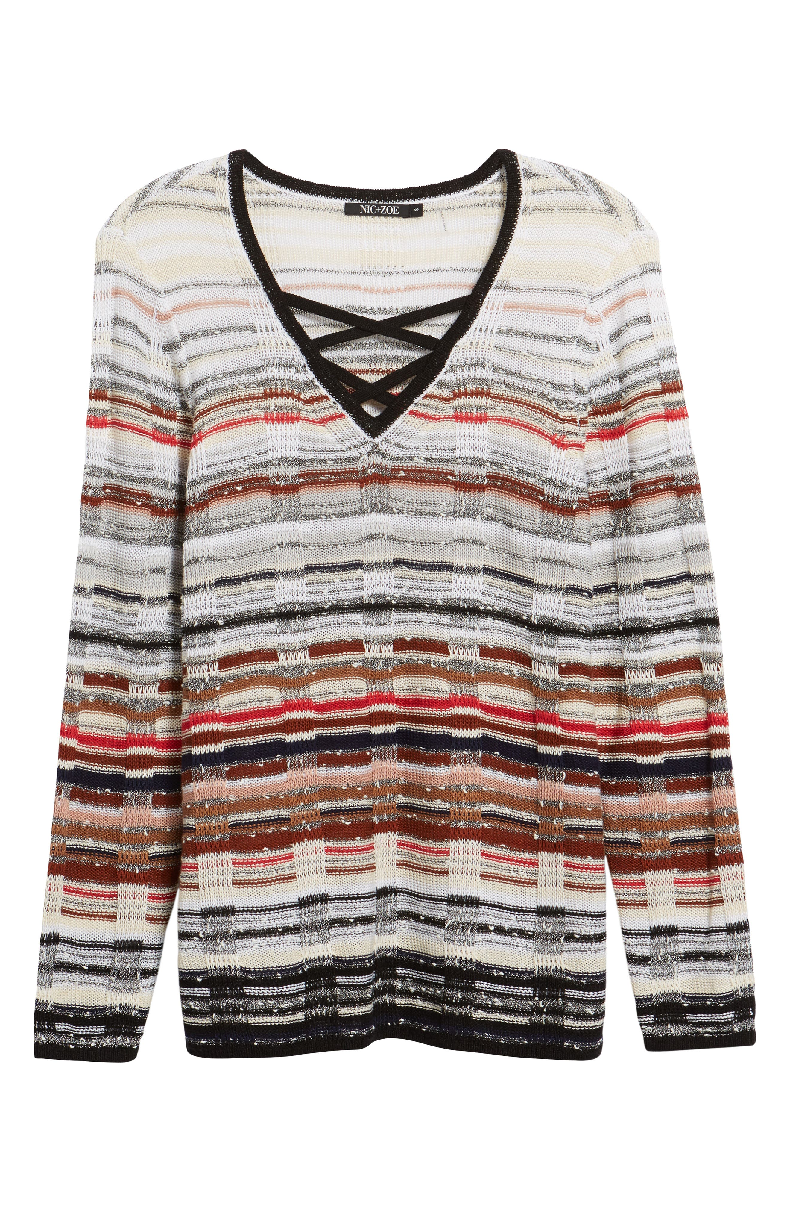 Red Hills Sweater,                             Alternate thumbnail 6, color,                             609