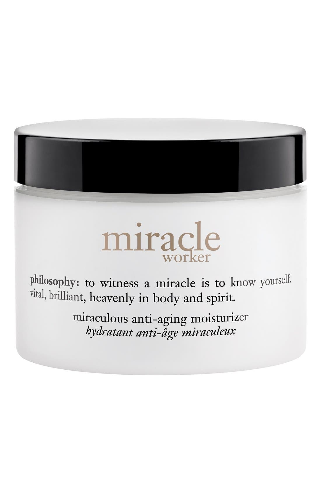 'anti-wrinkle miracle worker' miraculous anti-wrinkle moisturizer,                             Main thumbnail 1, color,                             NO COLOR