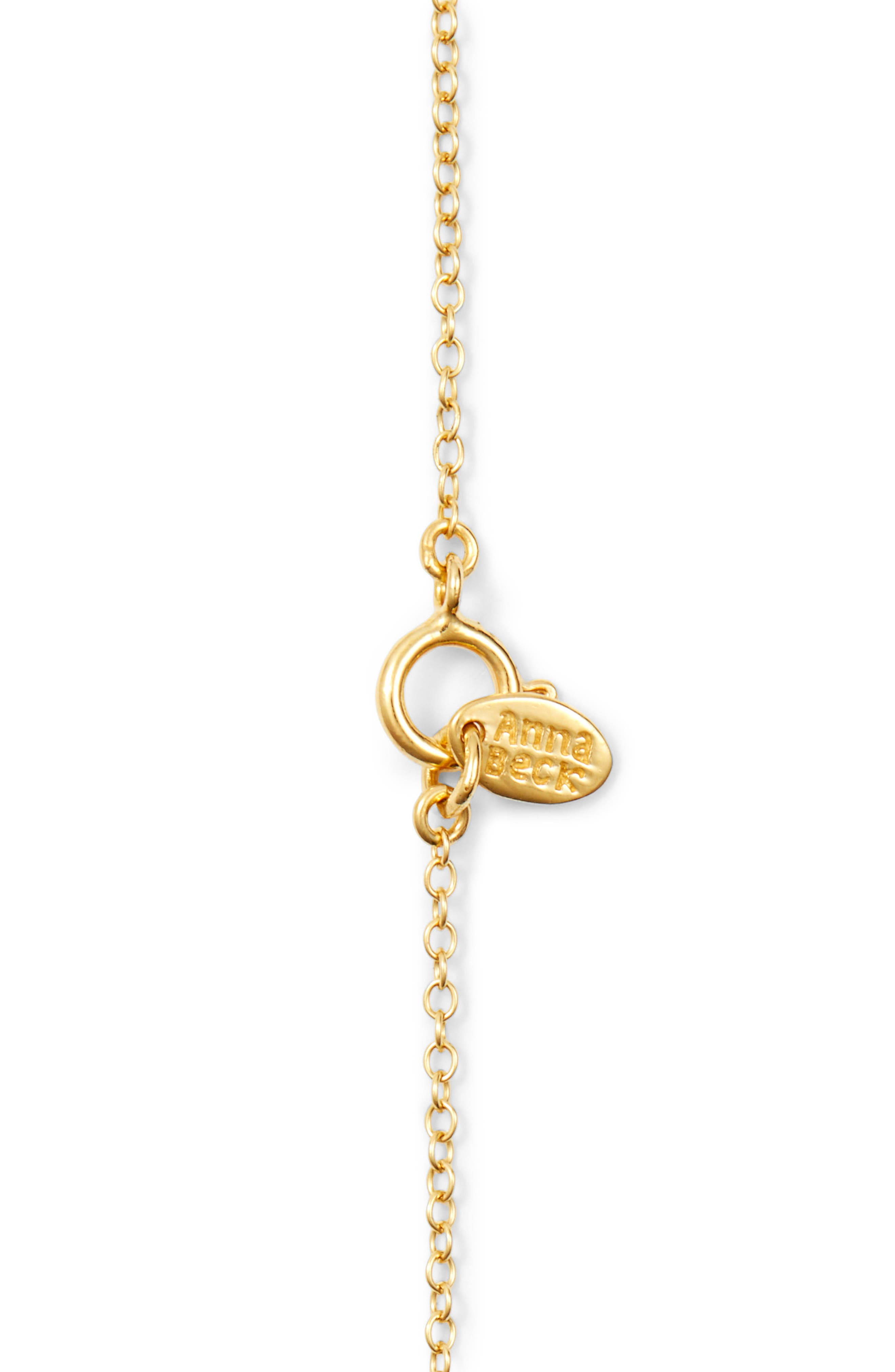 Chalcedony Doublet Pendant Necklace,                             Alternate thumbnail 3, color,                             400