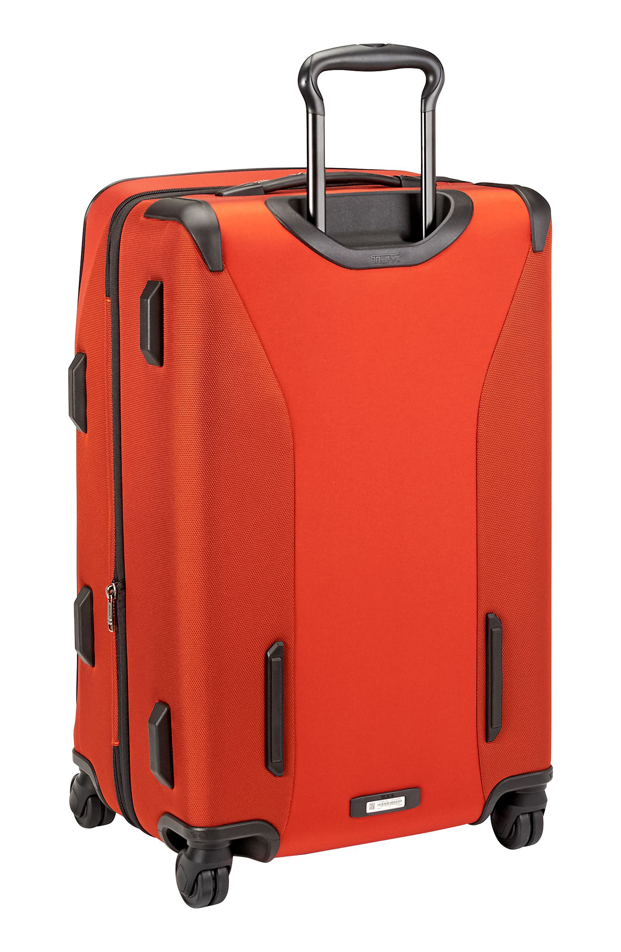Merge - Short Trip Expandable Rolling Suitcase,                             Alternate thumbnail 4, color,                             SUNSET RED