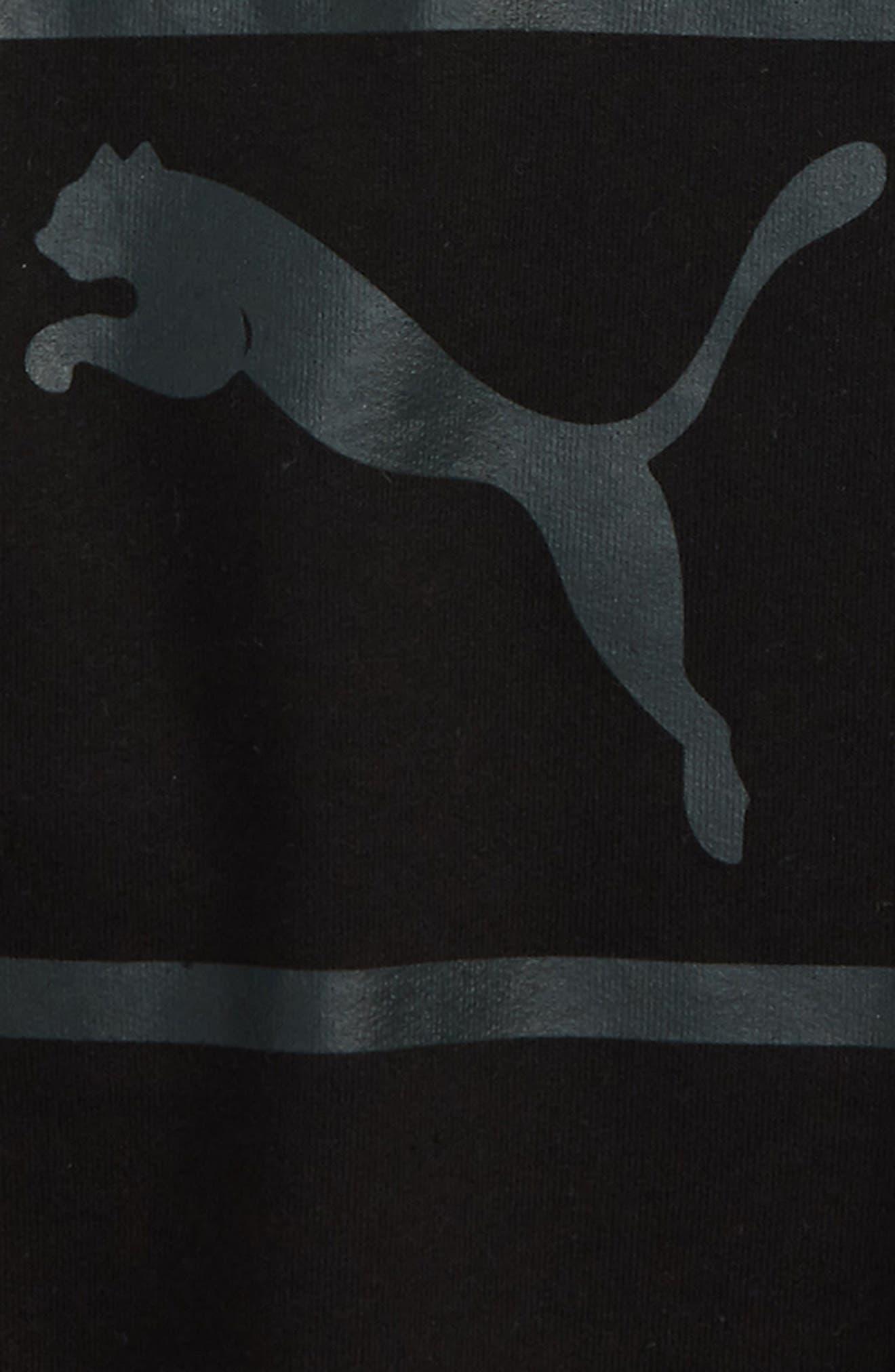 Heritage Logo Crewneck Sweatshirt,                             Alternate thumbnail 2, color,                             001