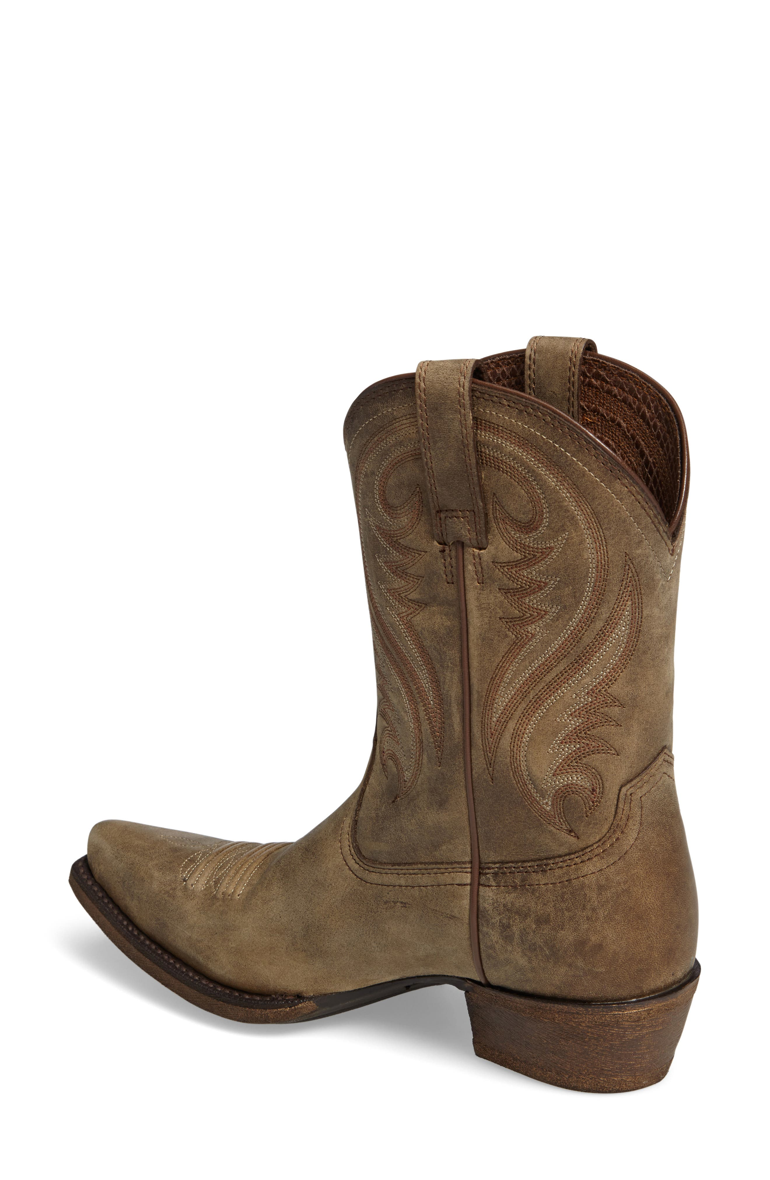 Willow Western Boot,                             Alternate thumbnail 4, color,
