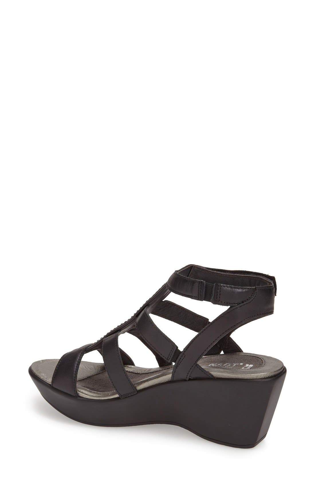'Mystery' Platform Wedge Sandal,                             Alternate thumbnail 17, color,