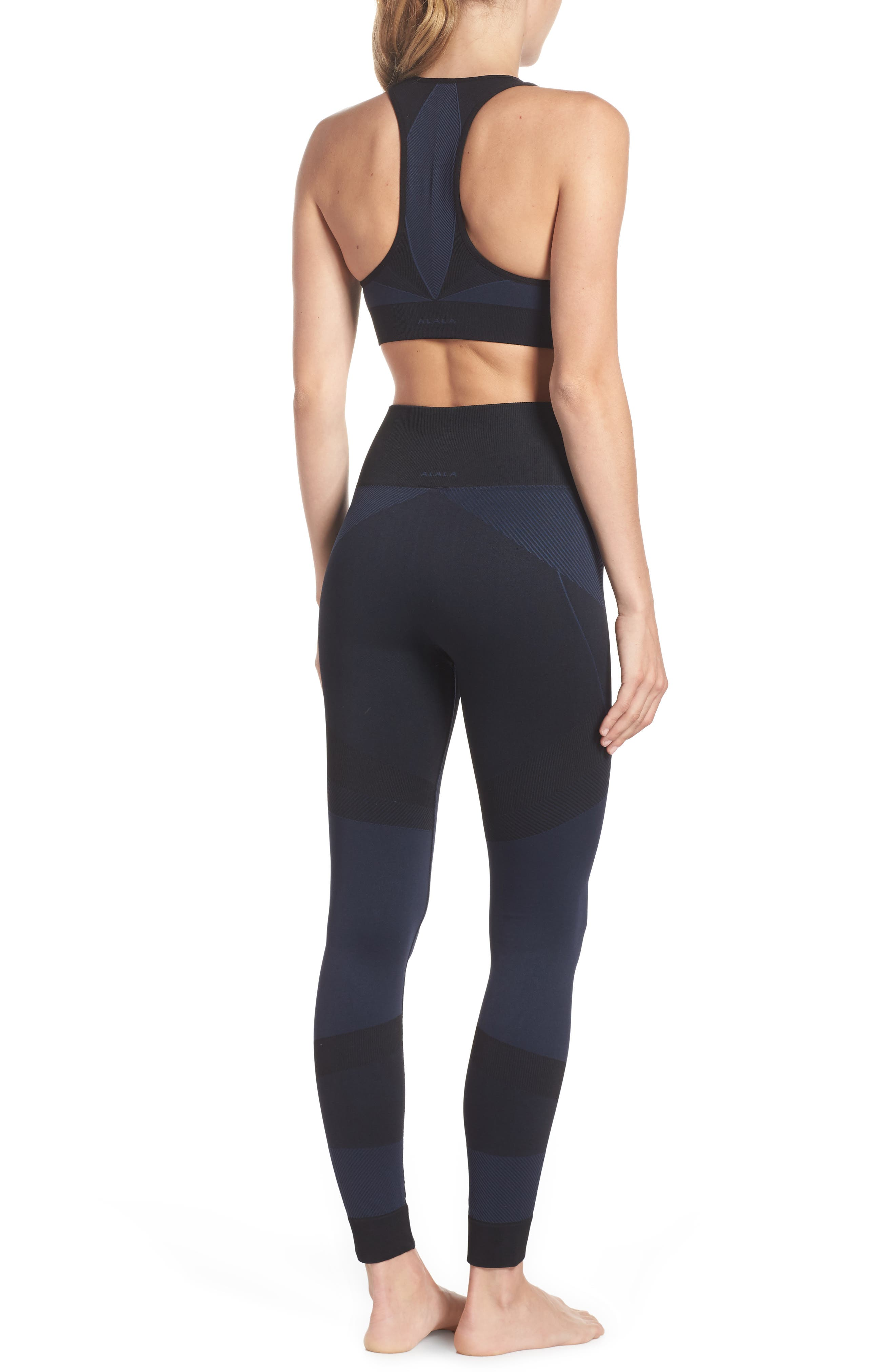 Score High Waist Leggings,                             Alternate thumbnail 9, color,
