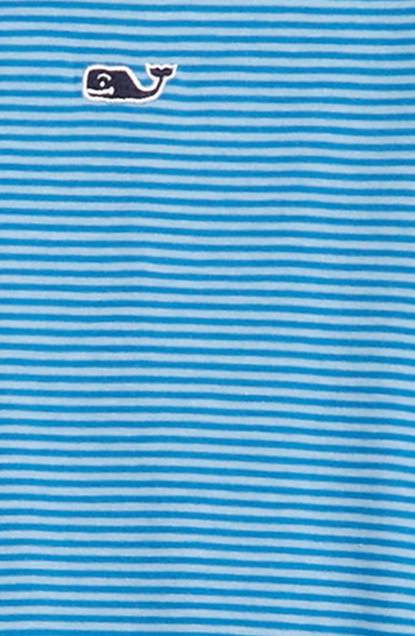 Stripe Edgartown Performance Polo,                             Alternate thumbnail 2, color,                             456