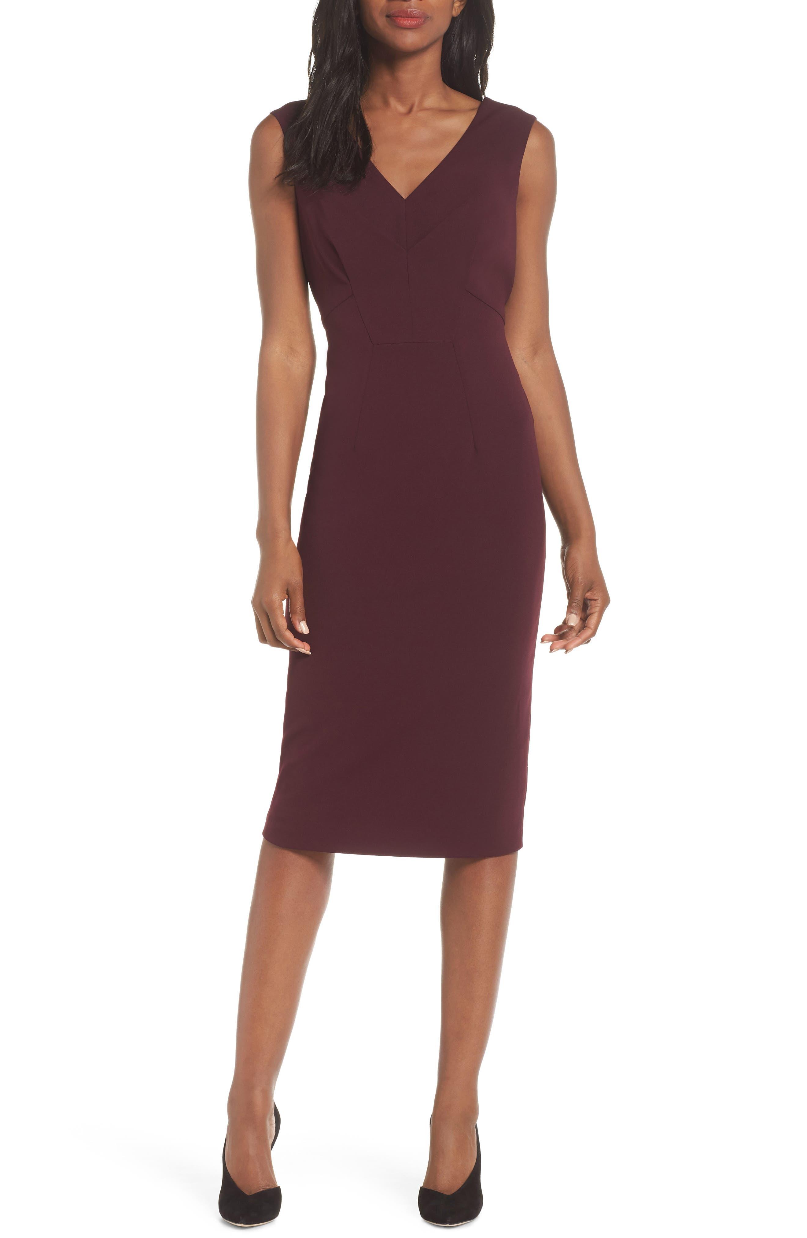 Ava Gardner Sheath Dress, Main, color, 930