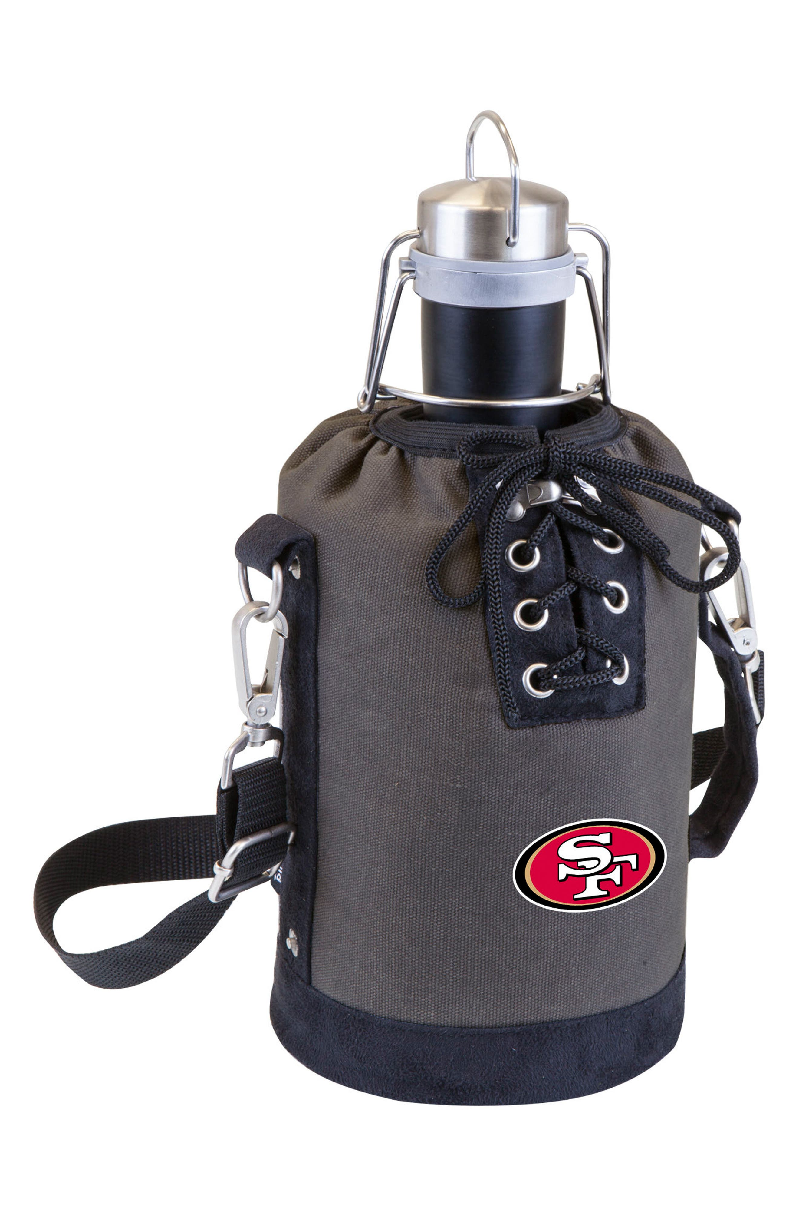 NFL Team Logo Tote & Stainless Steel Growler,                             Main thumbnail 26, color,