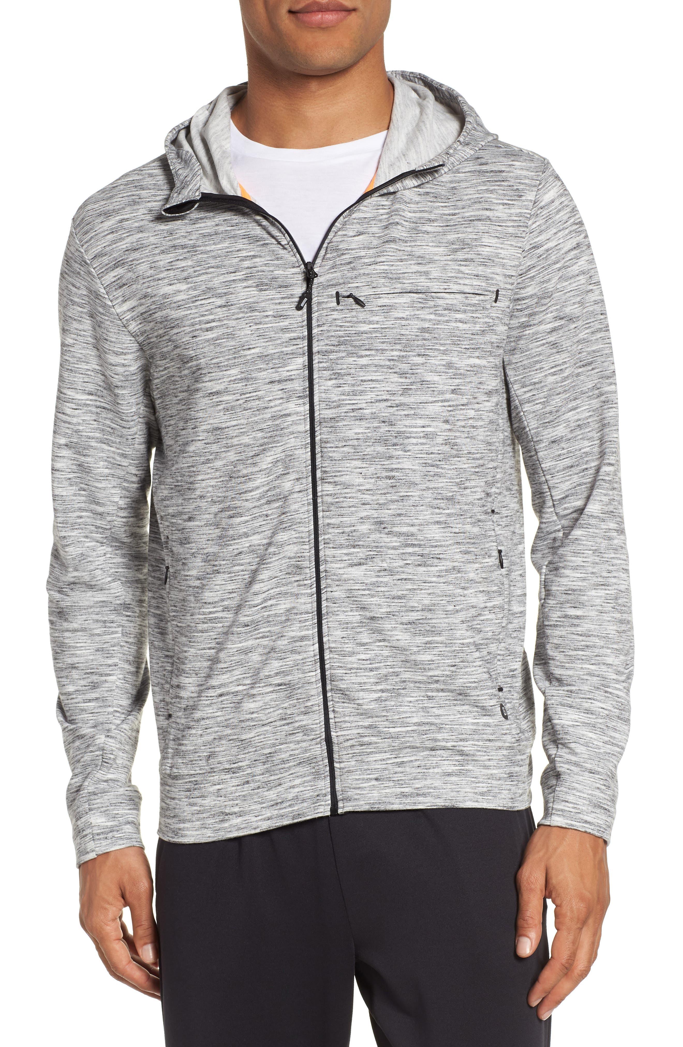 Goodsport Tech Fleece Zip Hoodie,                         Main,                         color, 001