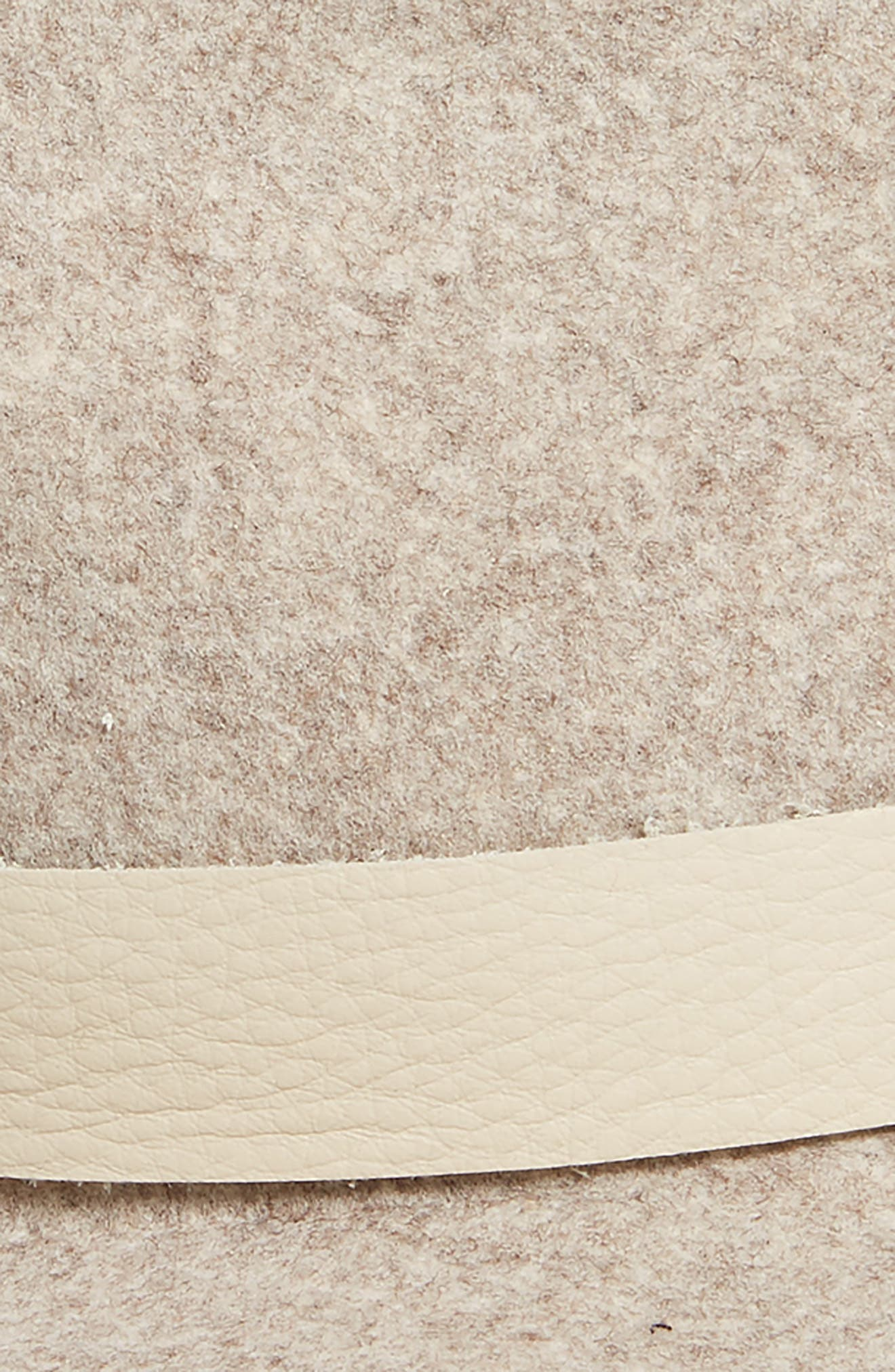 Abbott Packable Wool Fedora,                             Alternate thumbnail 2, color,