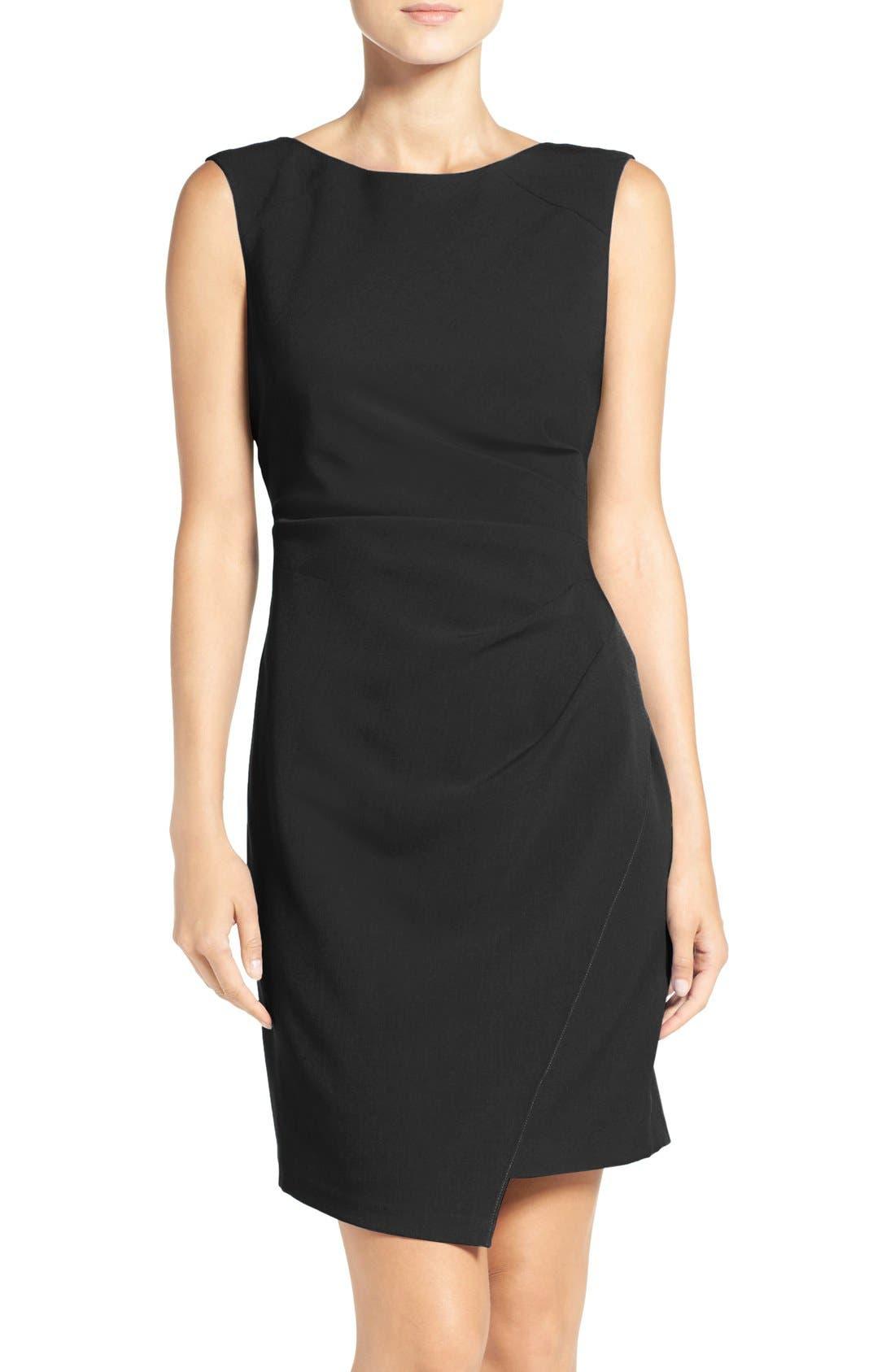 Stretch Sheath Dress,                         Main,                         color, 002