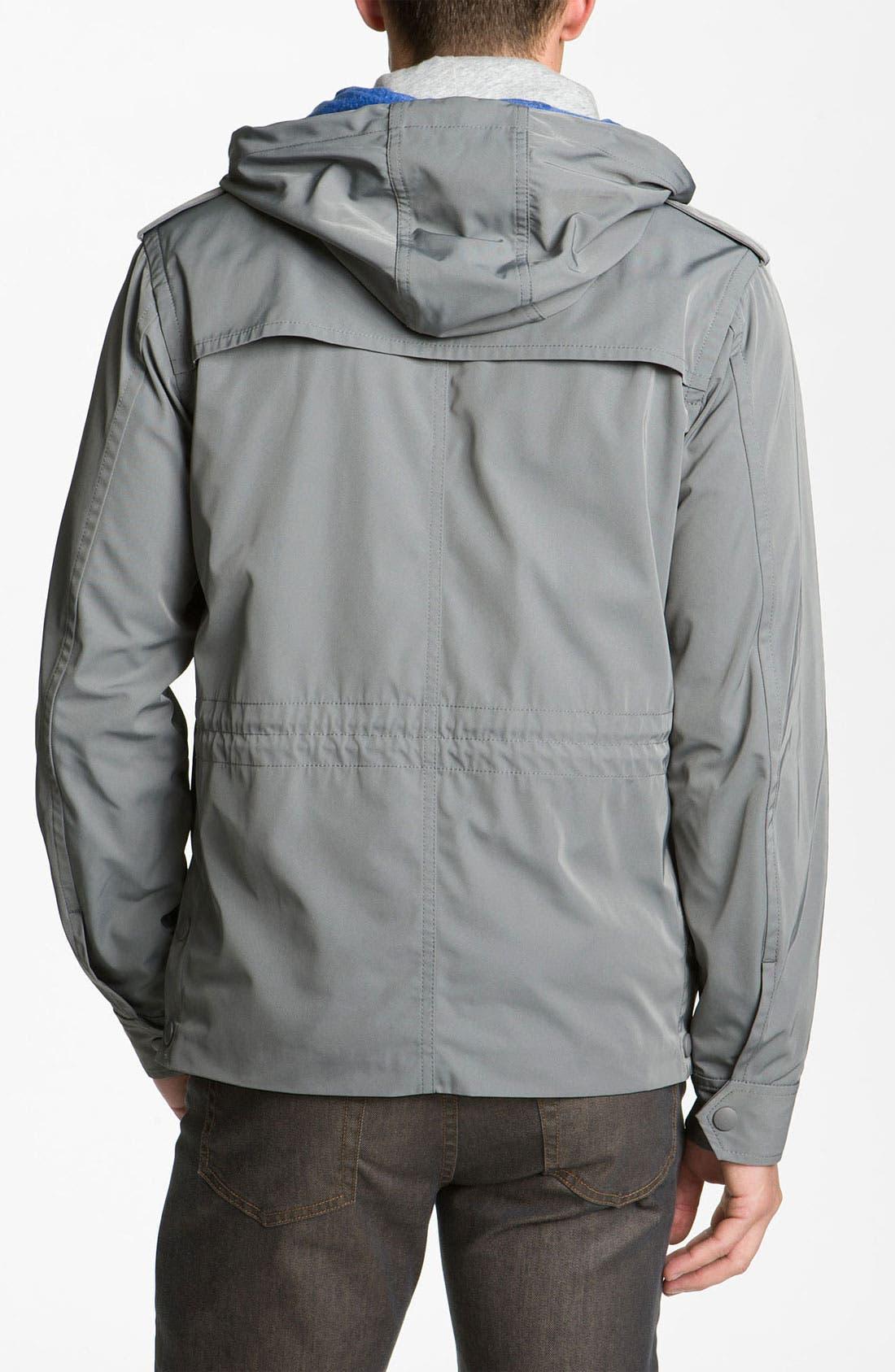 Techno Gabardine Jacket,                             Alternate thumbnail 2, color,