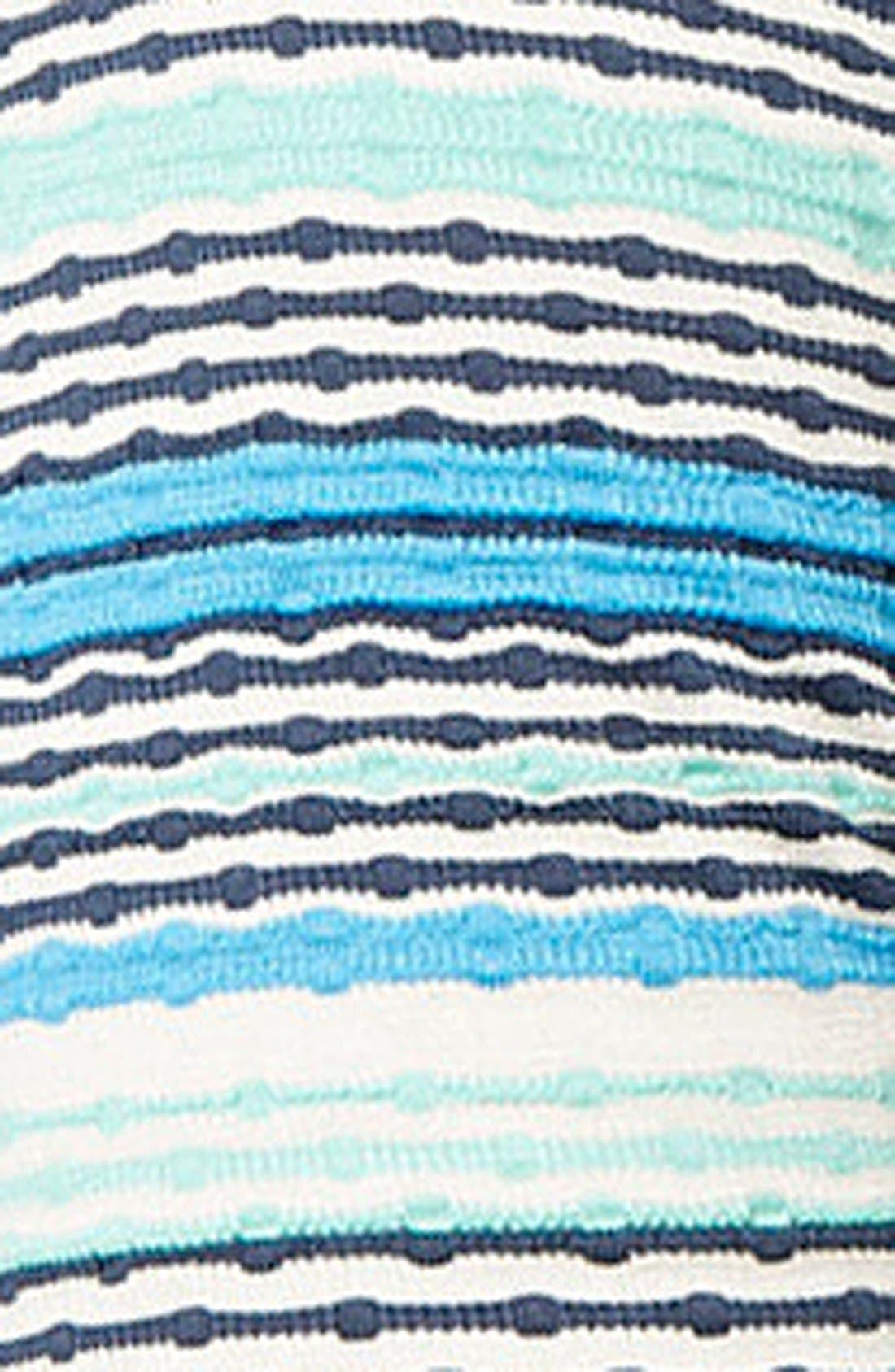 TOPSHOP,                             Jacquard Tunic Dress,                             Alternate thumbnail 2, color,                             400