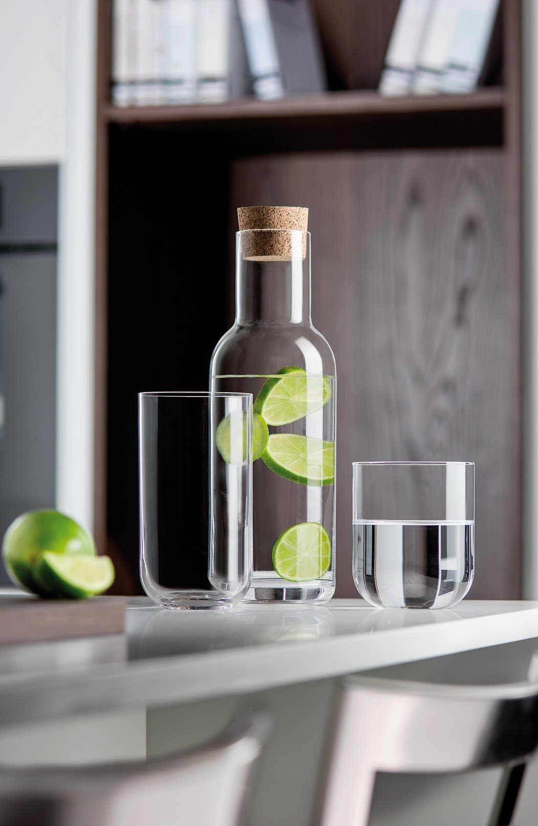 'Sublime' Beverage Glasses,                             Alternate thumbnail 3, color,                             CLEAR