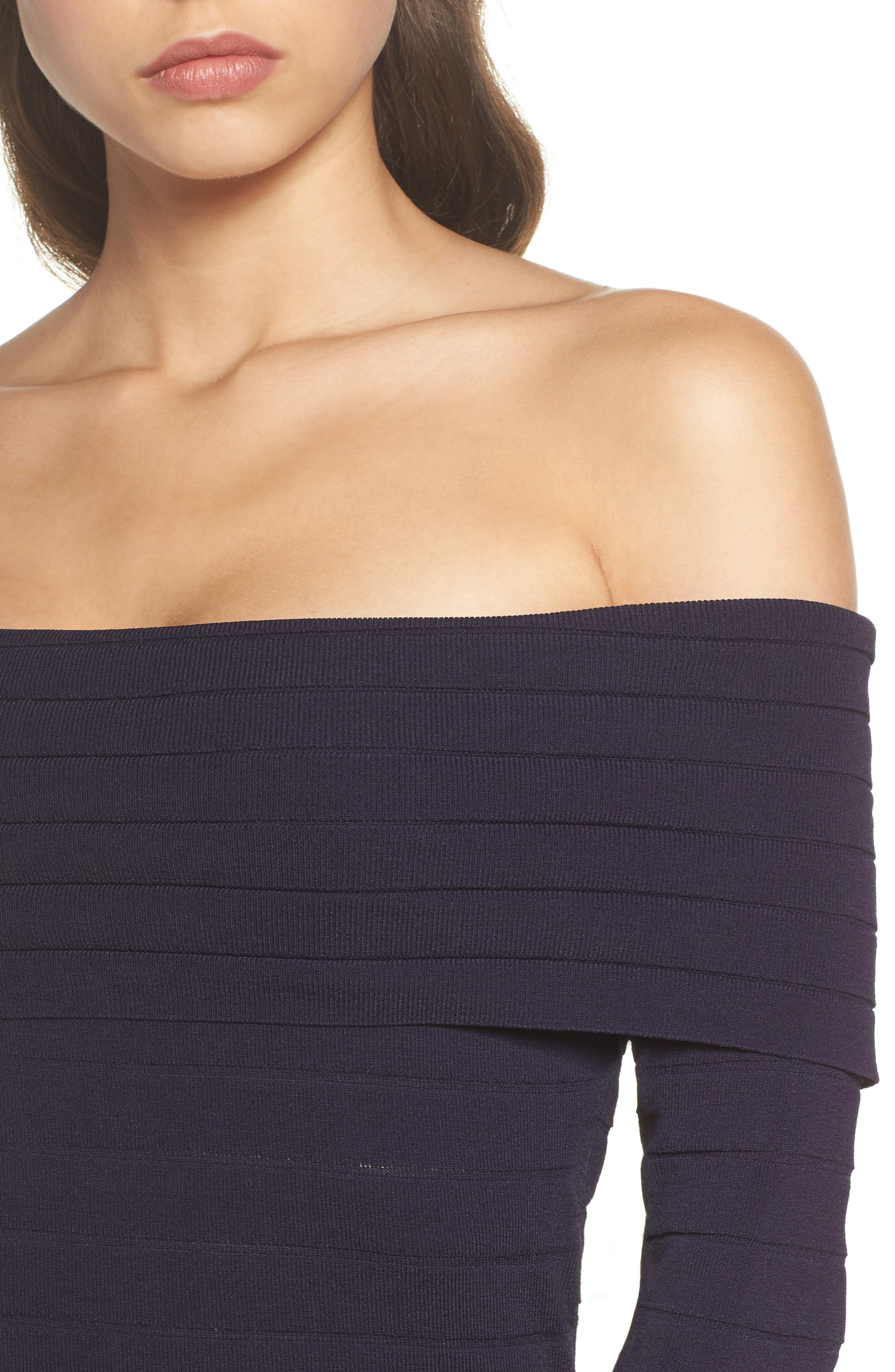 Bandage Midi Dress,                             Alternate thumbnail 18, color,