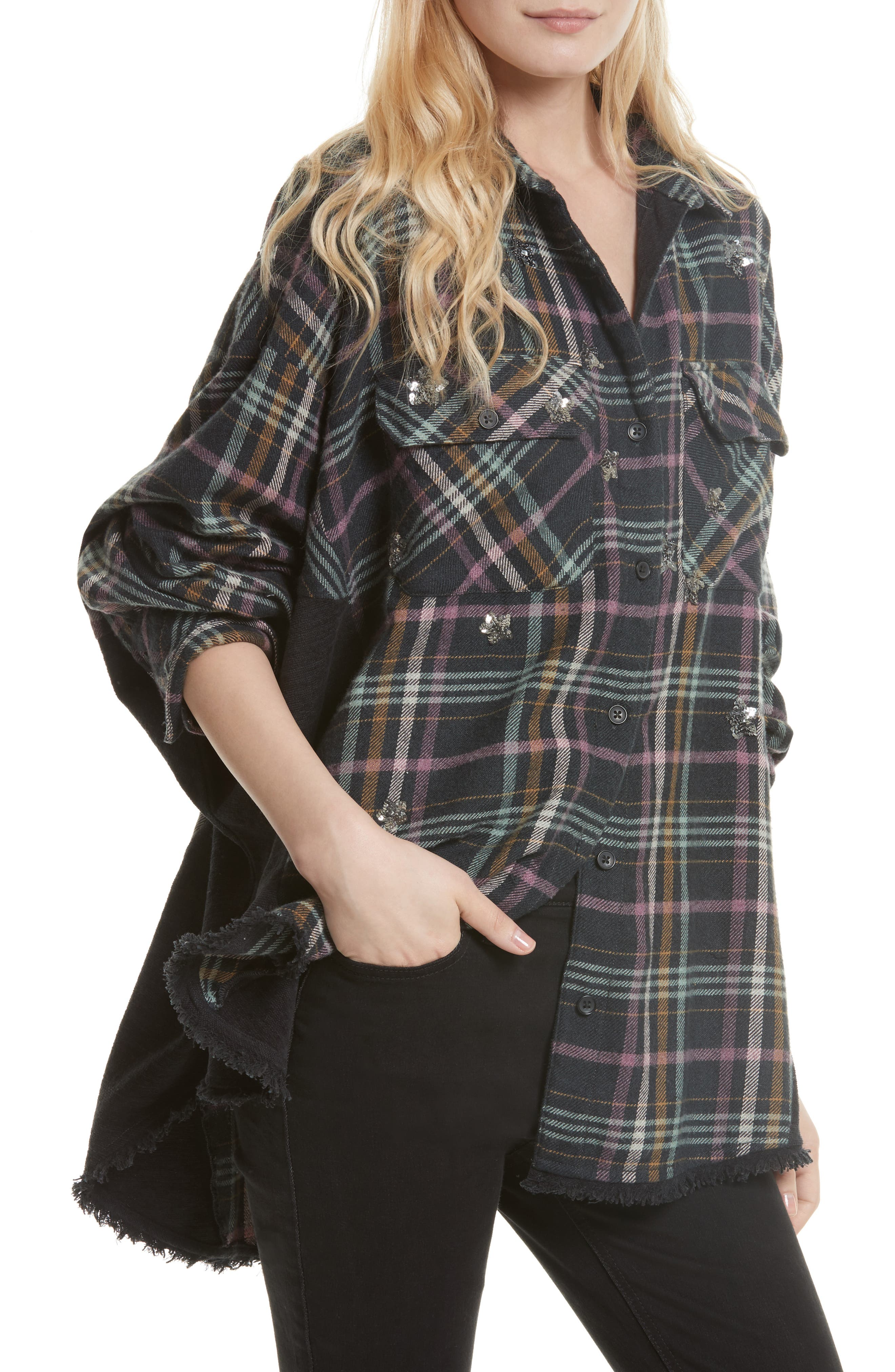Constellations Tunic Shirt,                         Main,                         color, 001