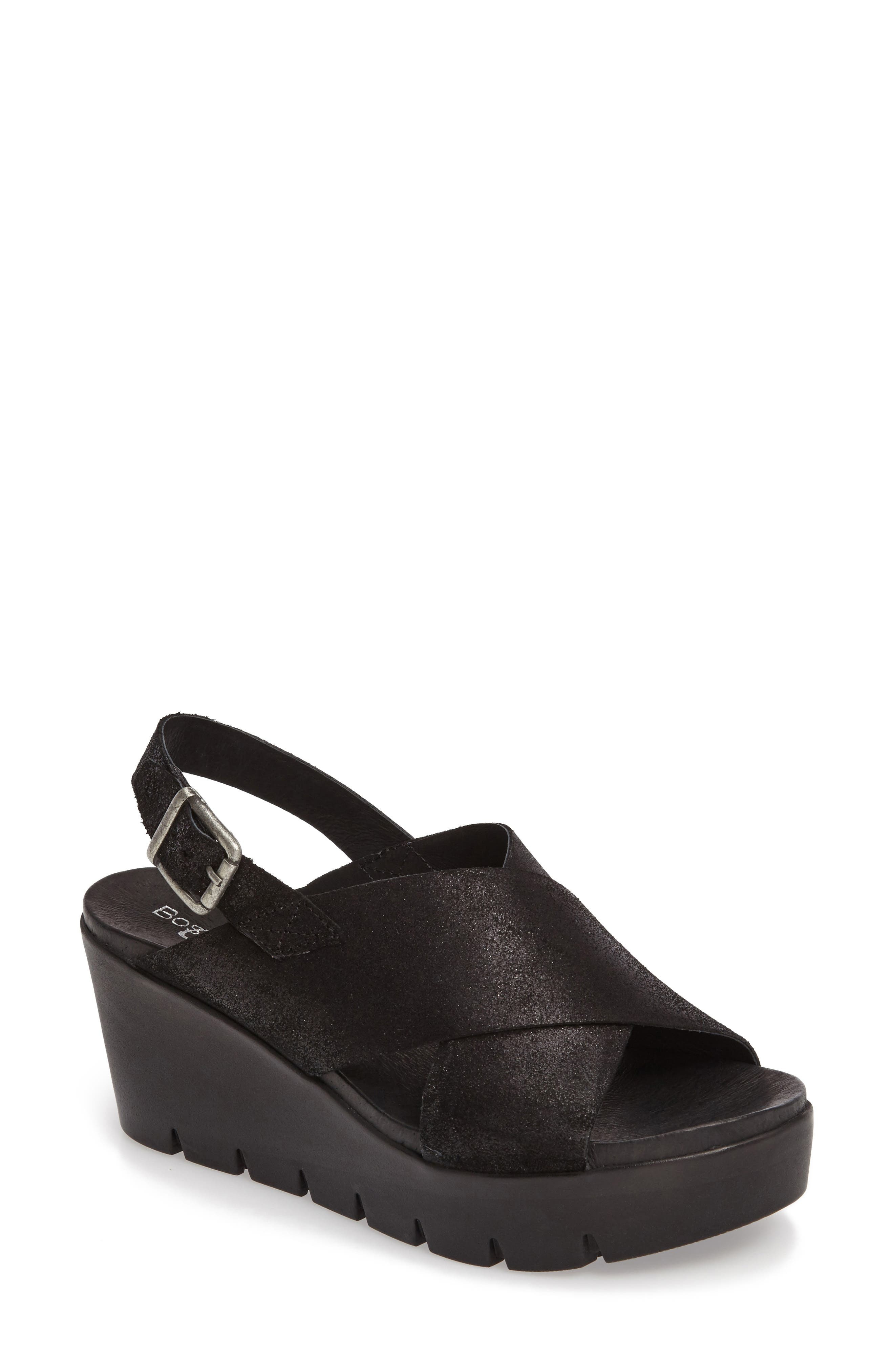 Payton Platform Wedge Sandal,                         Main,                         color, 001