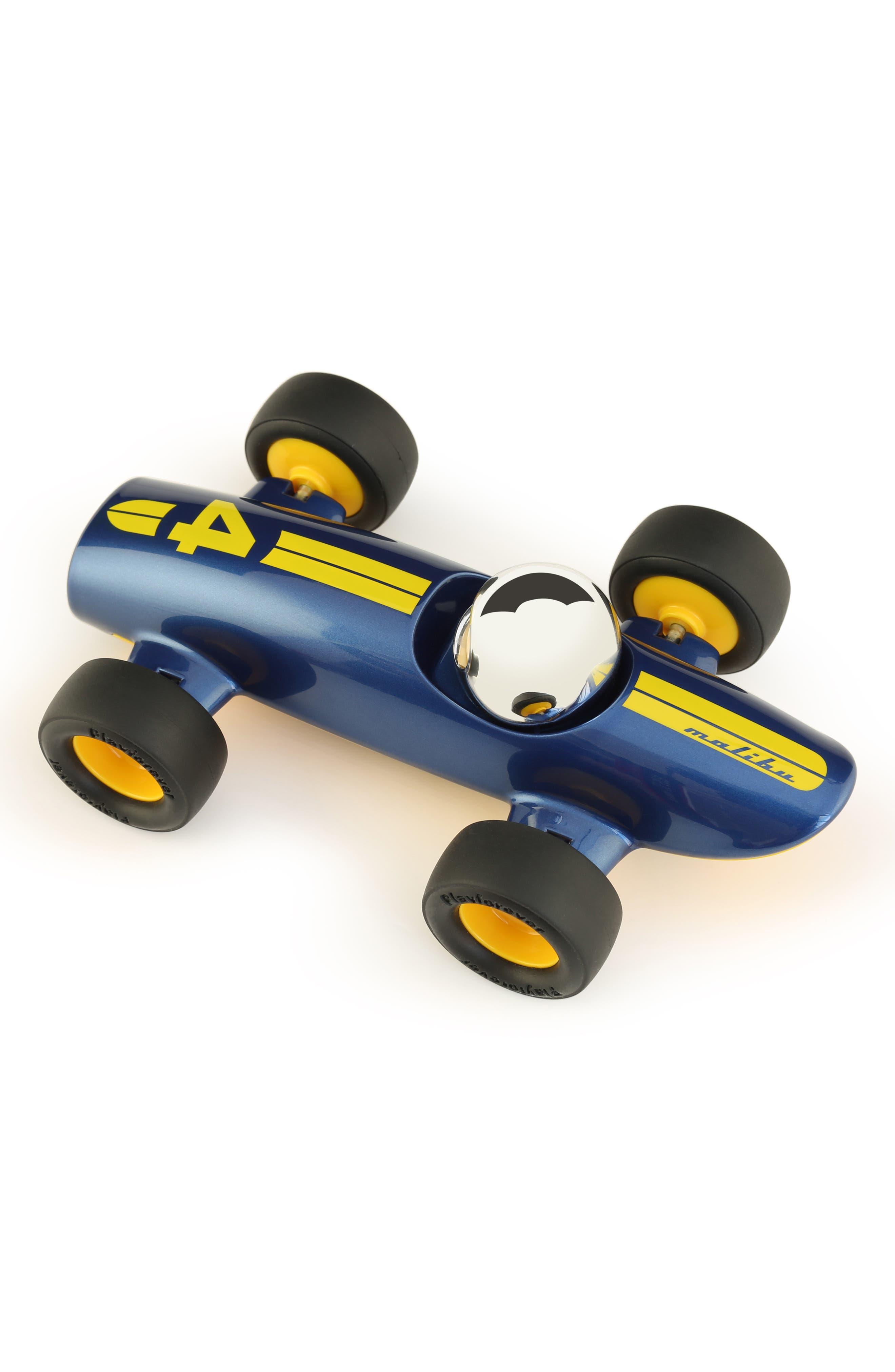 Malibu Toy Car,                             Alternate thumbnail 3, color,                             BLUE