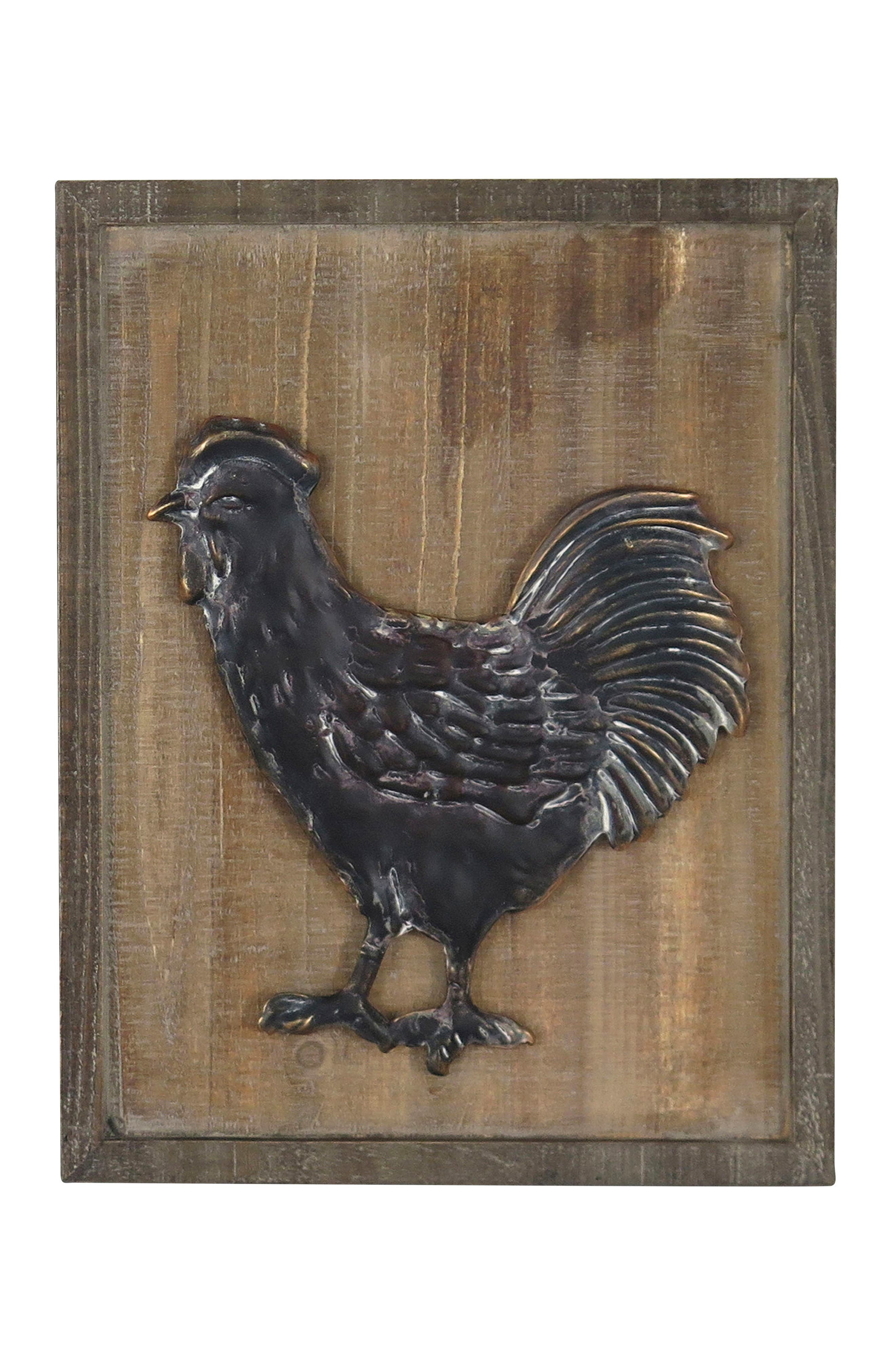 Early Riser Chicken Wall Art,                         Main,                         color,