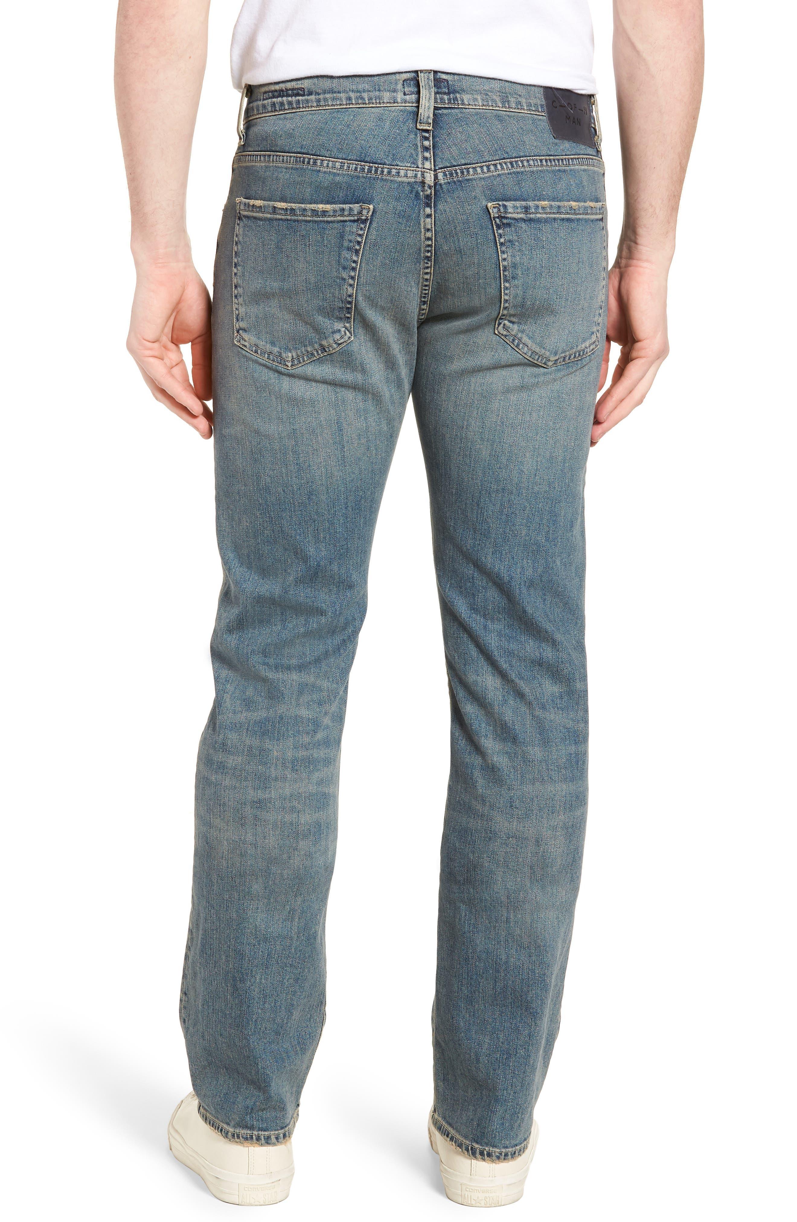 Sid Straight Leg Jeans,                             Alternate thumbnail 2, color,                             URIEL