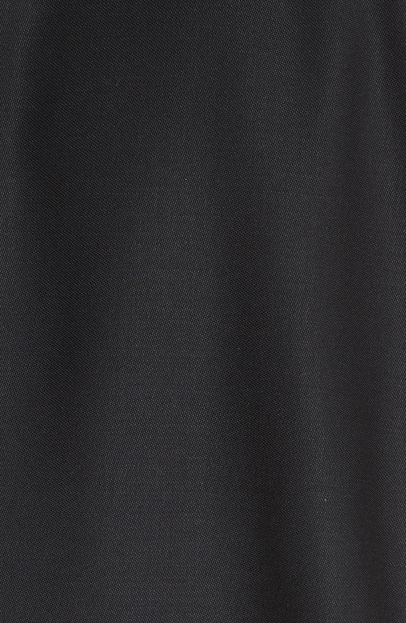 Thompson Wool & Mohair Blazer,                             Alternate thumbnail 7, color,                             BLACK