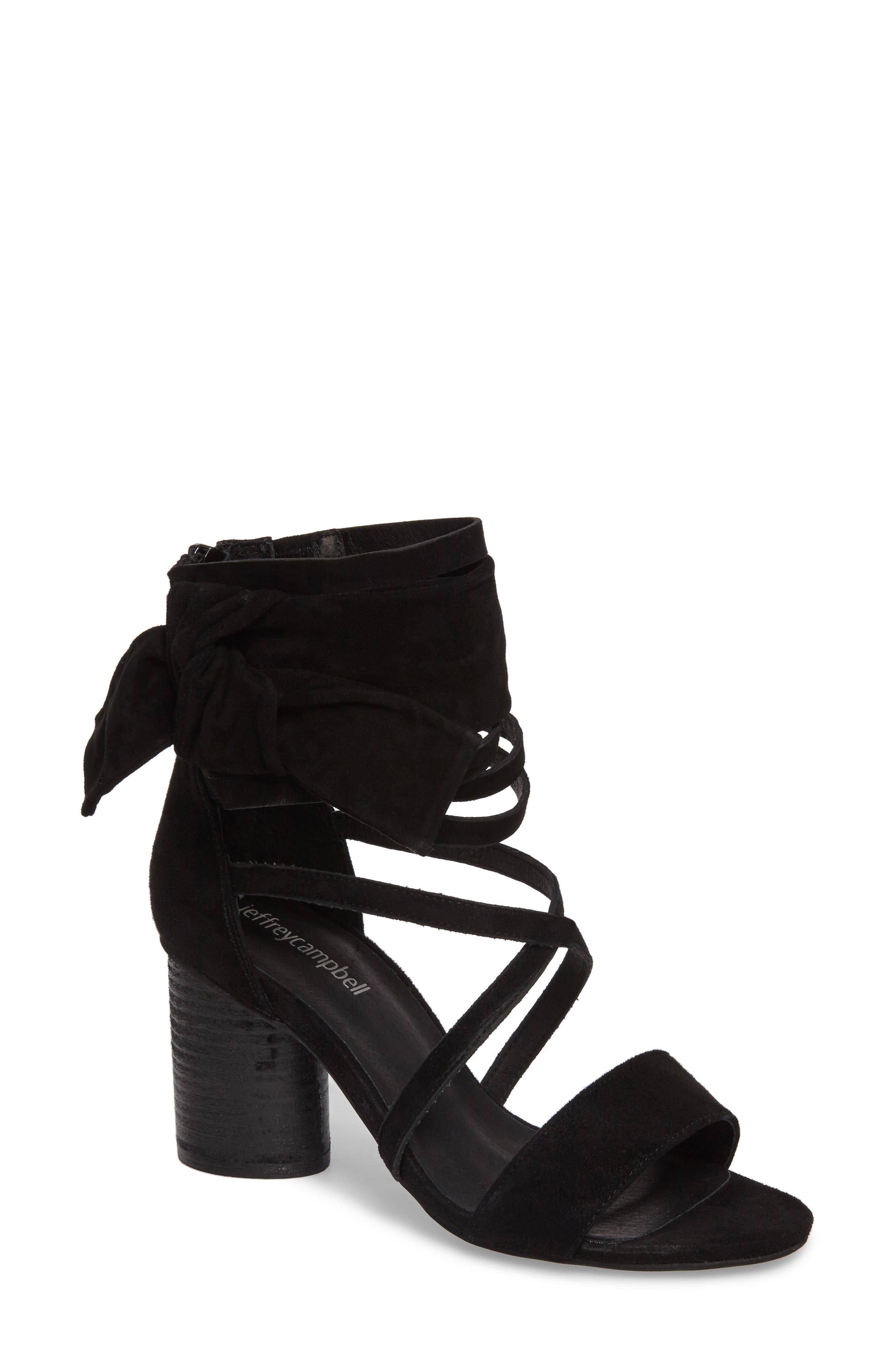 Destini Ankle Cuff Sandal,                             Main thumbnail 1, color,                             005