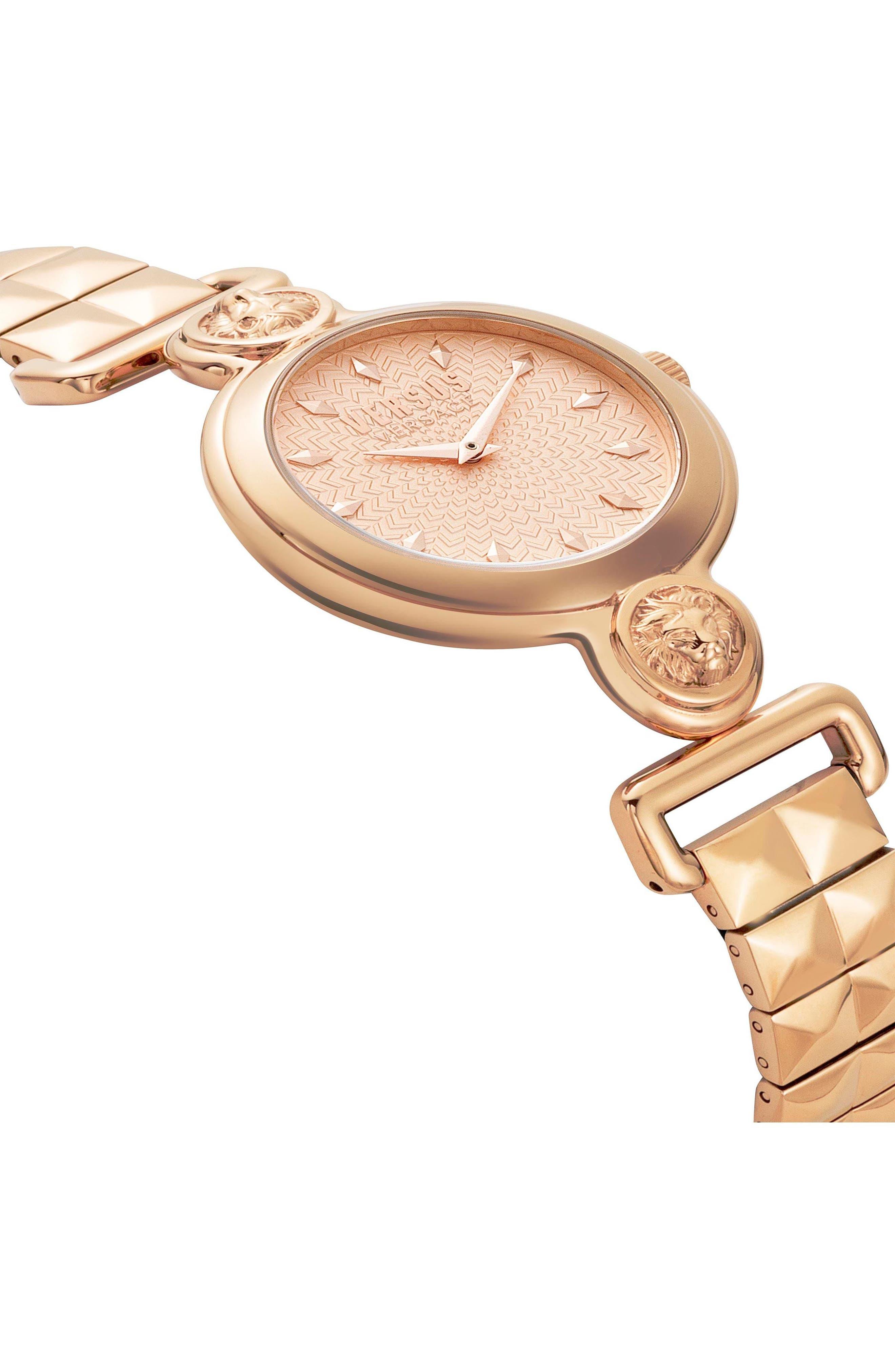 VERSUS by Versace Sunnyridge Bracelet Watch, 34mm,                             Alternate thumbnail 9, color,