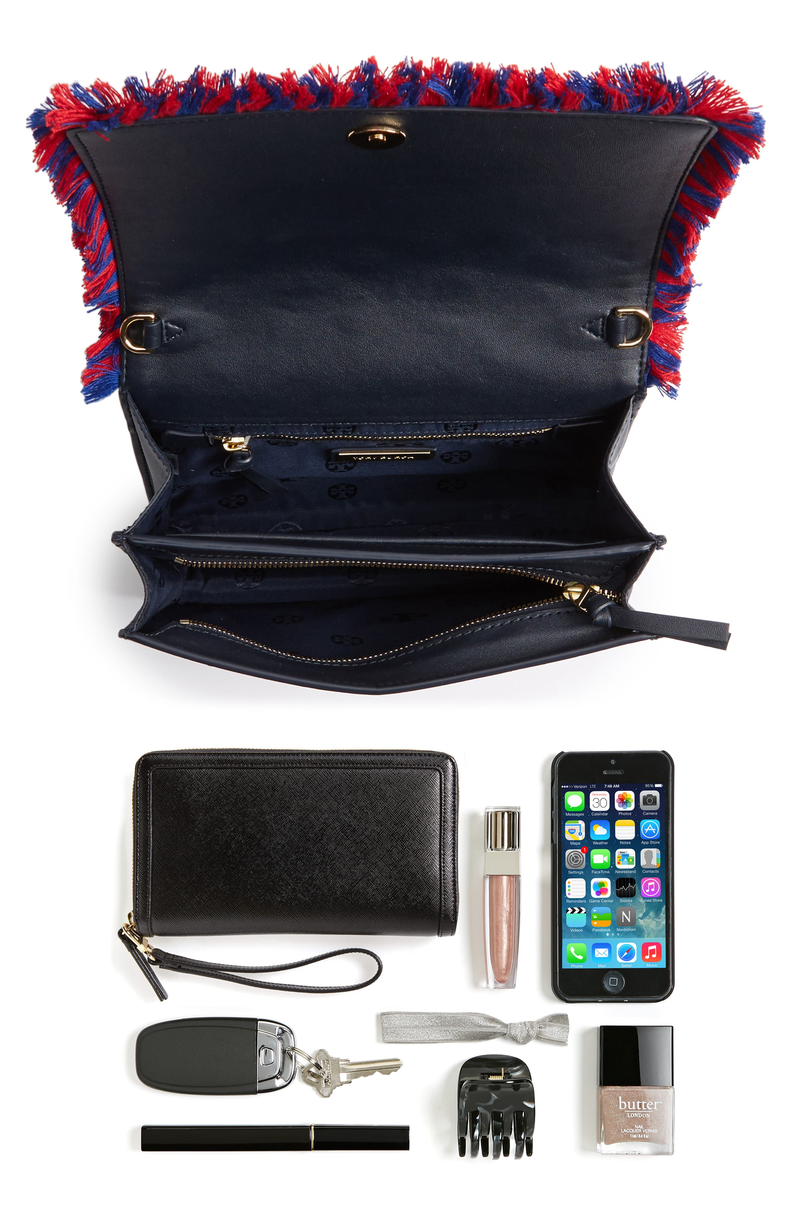 Embroidered Floral Crossbody Bag,                             Alternate thumbnail 2, color,                             400