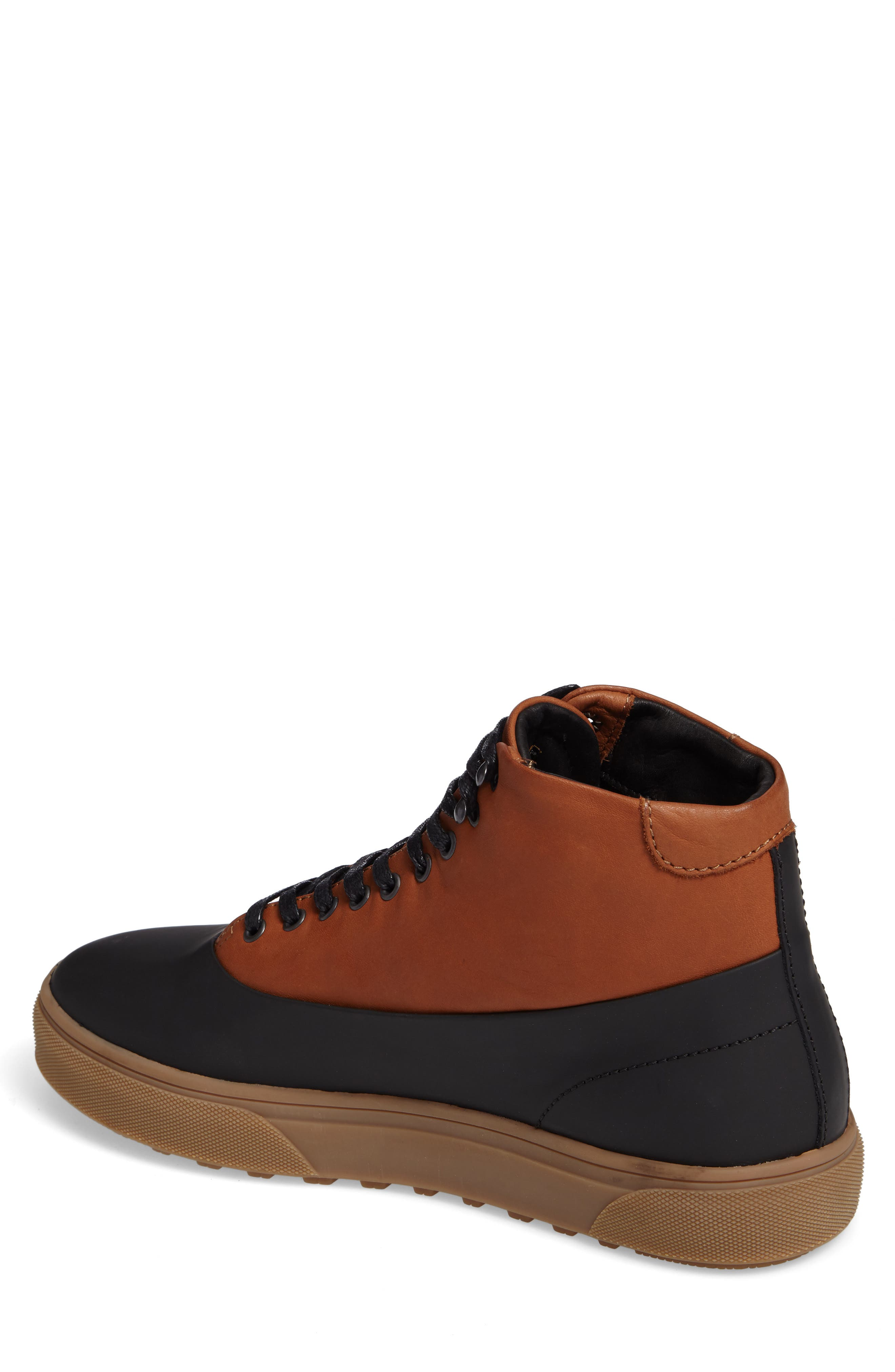 Wayland High Top Sneaker,                             Alternate thumbnail 4, color,