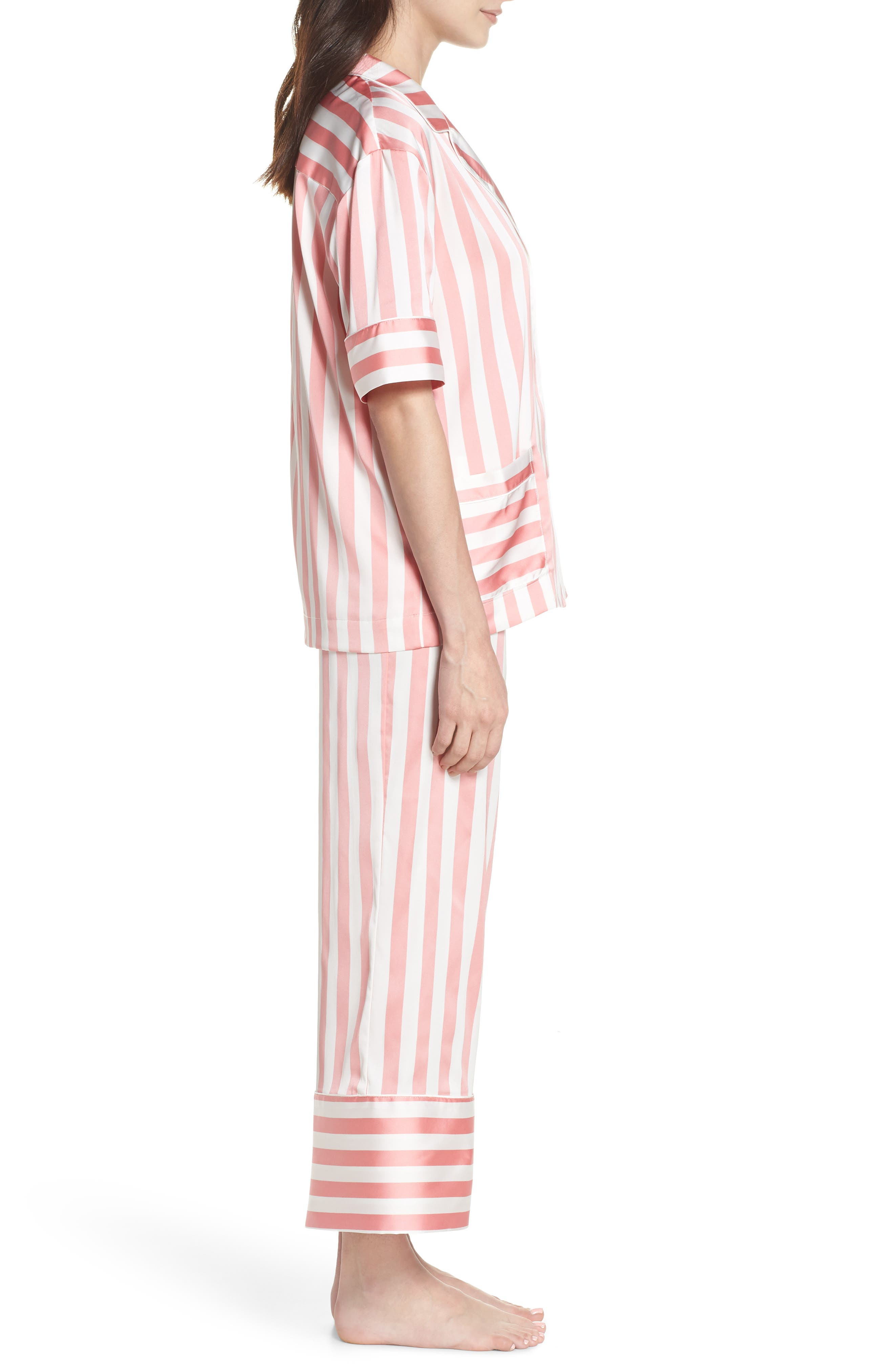 Cropped Pajamas,                             Alternate thumbnail 3, color,                             659