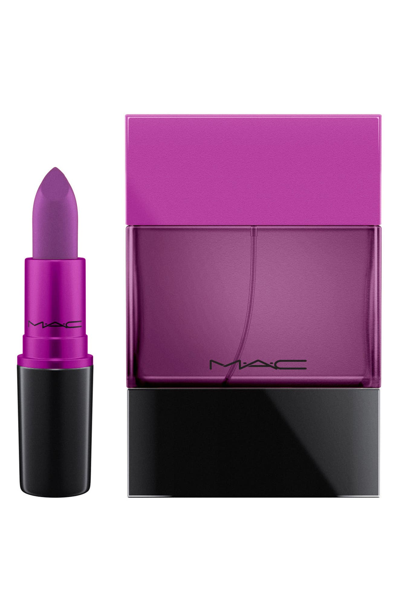MAC My Heroine Shadescent Lipstick,                             Alternate thumbnail 3, color,