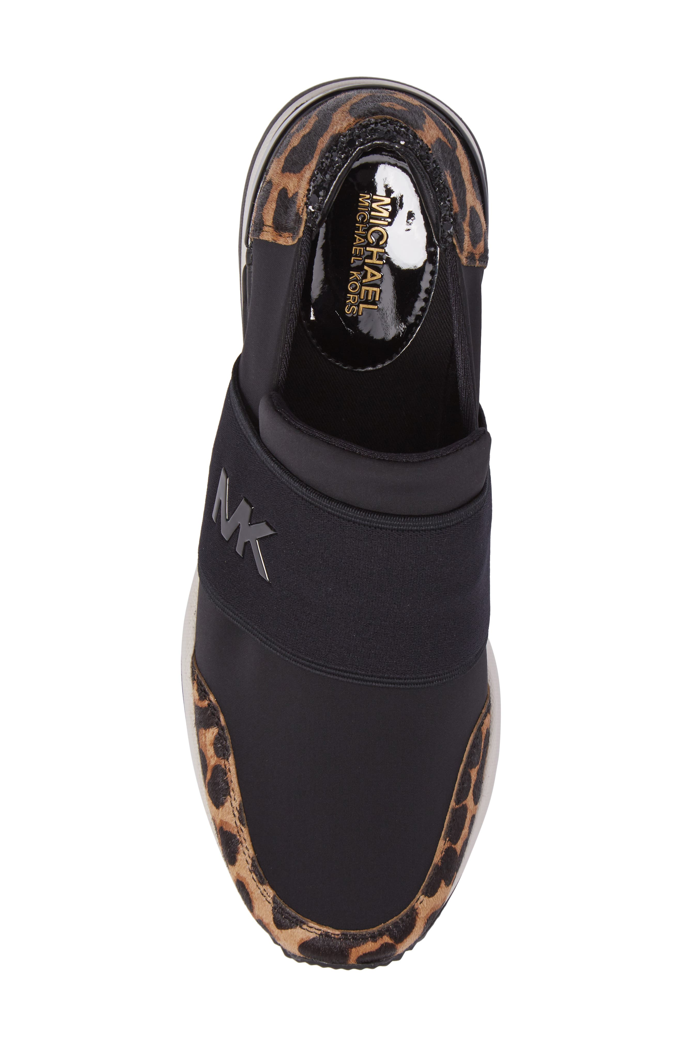 Felix Slip-On Glitter Sneaker,                             Alternate thumbnail 5, color,                             006