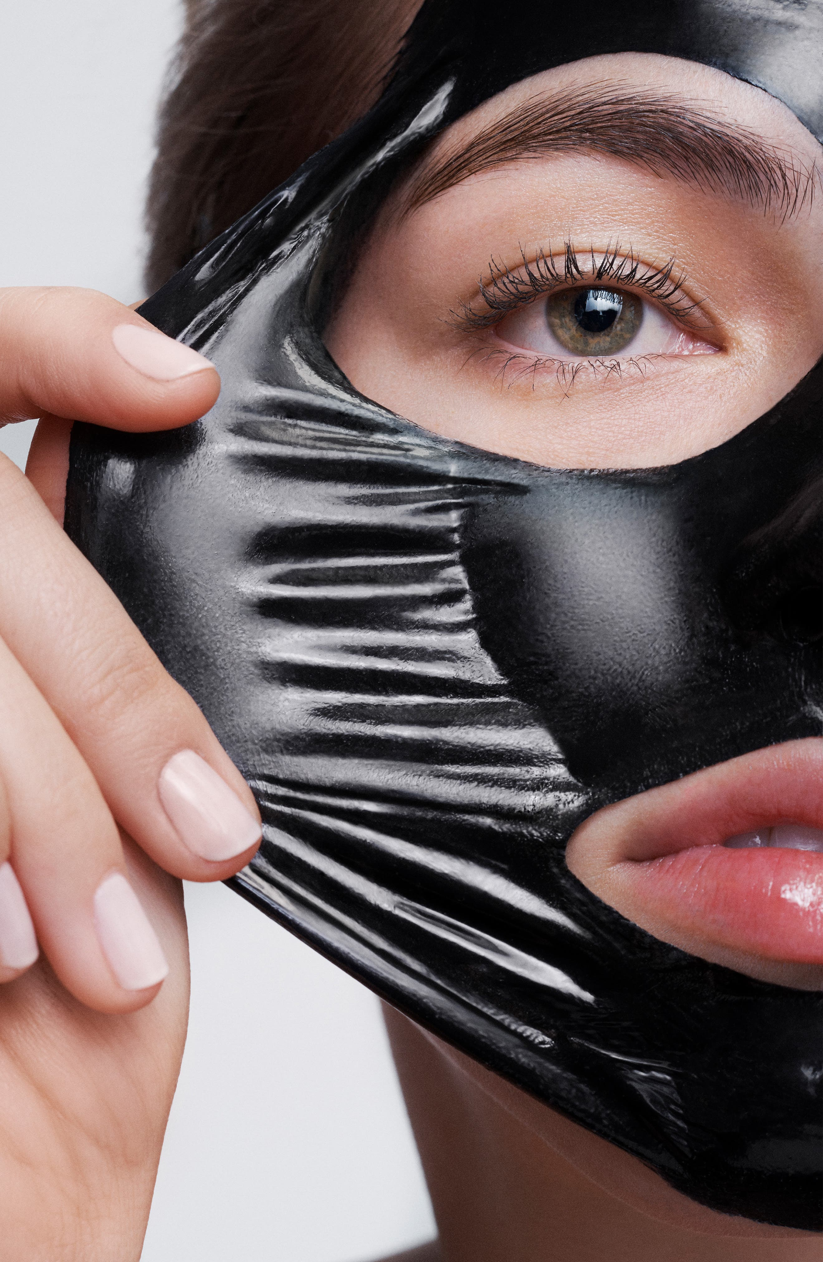 Luminizing Black Charcoal Mask,                             Alternate thumbnail 3, color,                             NO COLOR