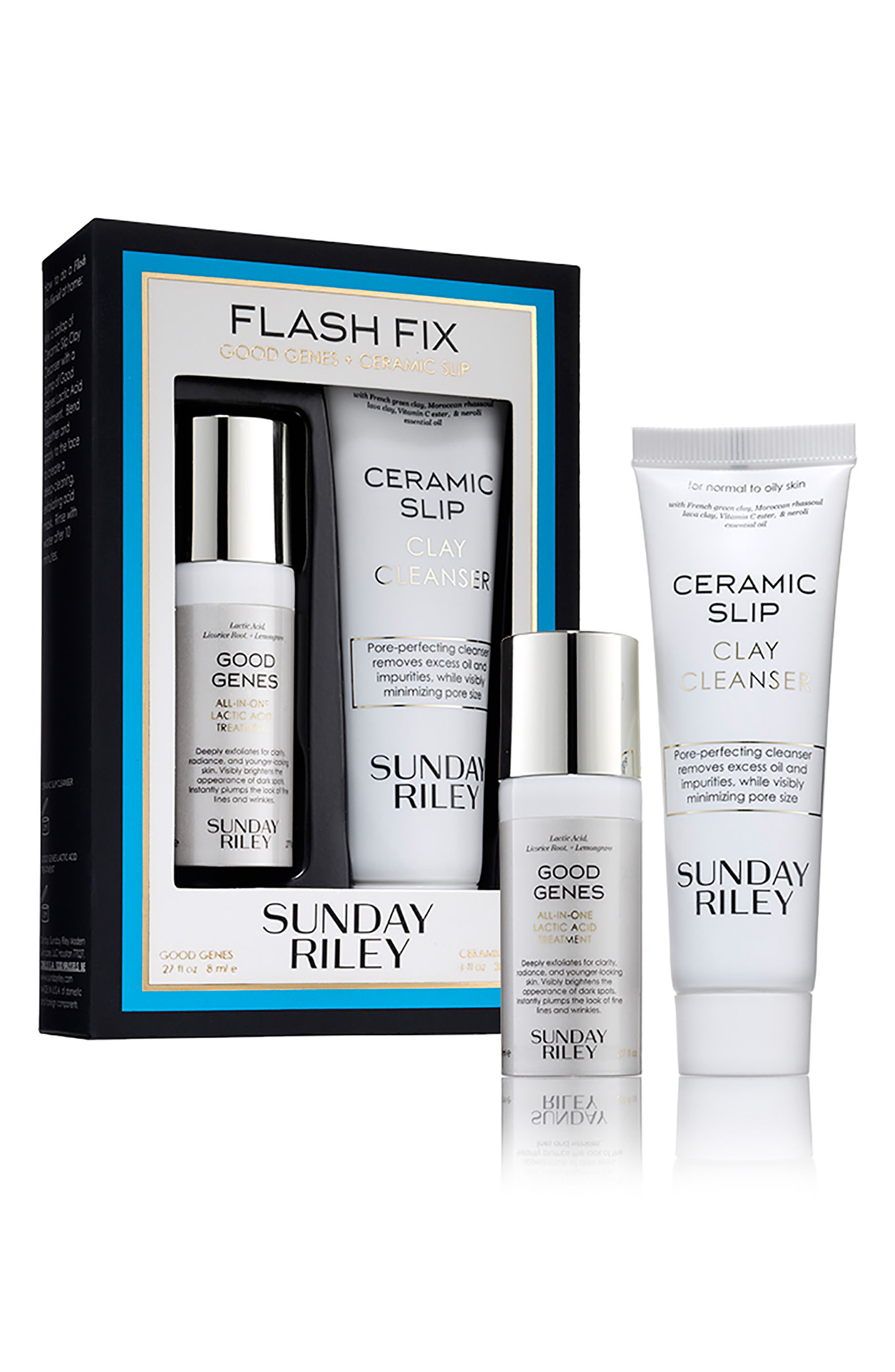 SPACE.NK.apothecary Sunday Riley Flash Fix Kit,                         Main,                         color, NO COLOR