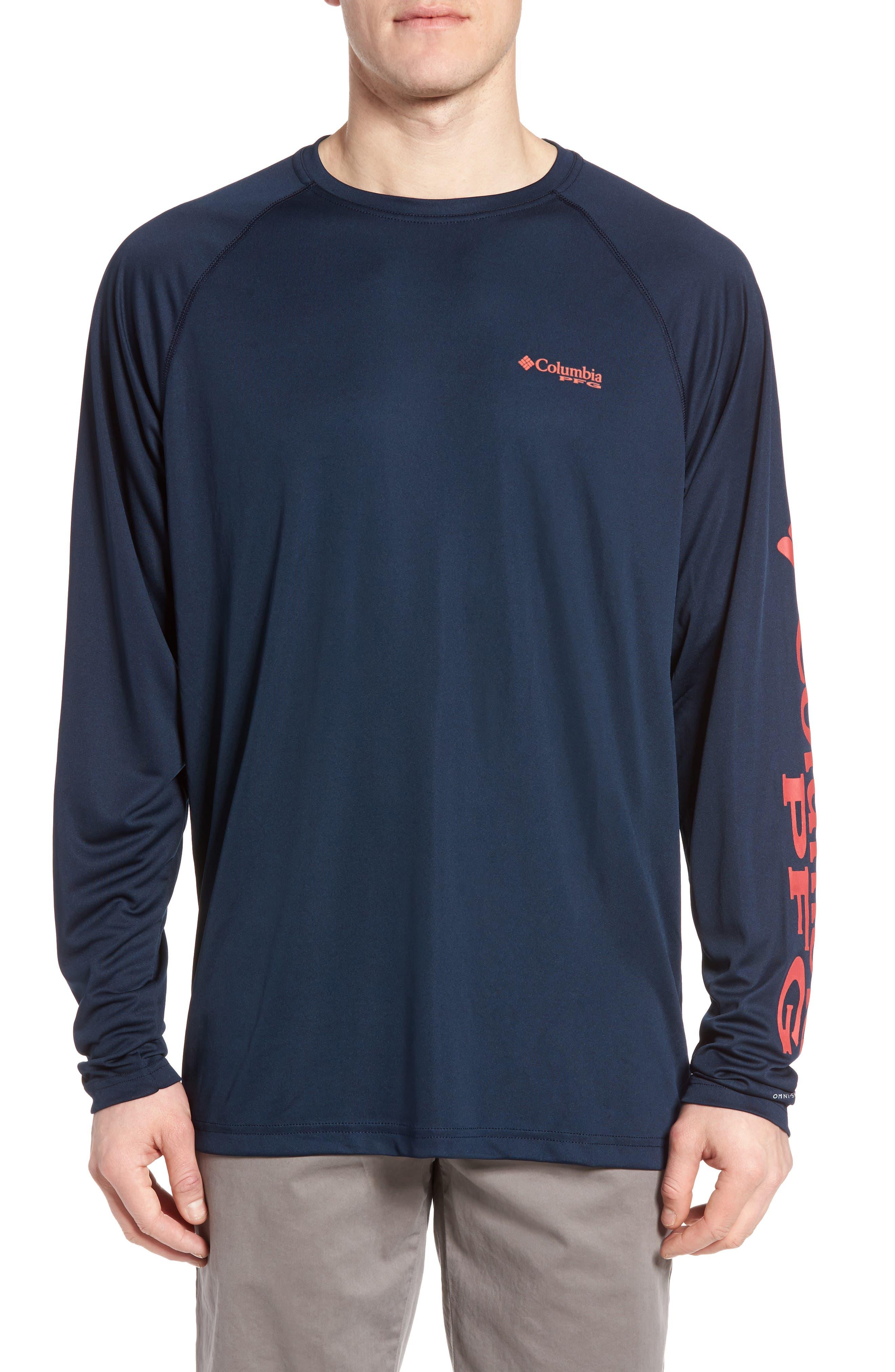 PFG Terminal Tackle Performance Long Sleeve T-Shirt,                             Main thumbnail 8, color,