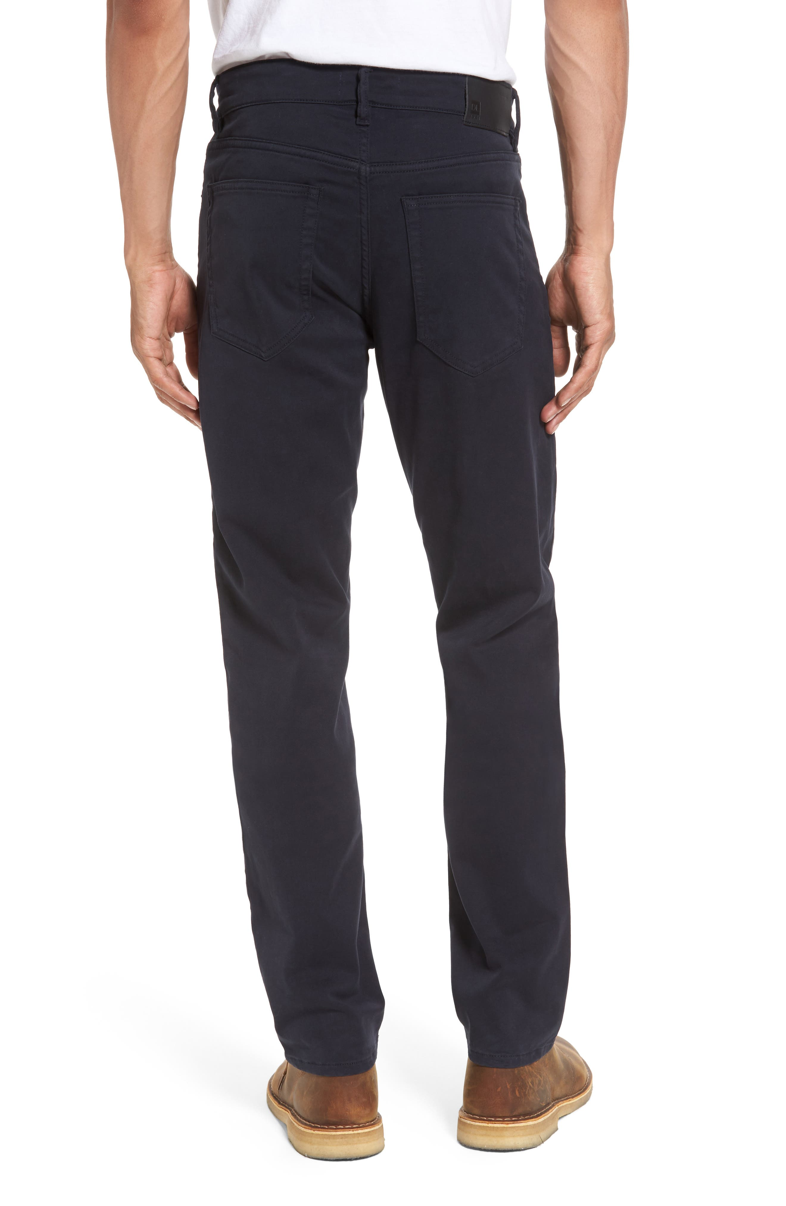 Russell Slim Fit Sateen Twill Pants,                             Alternate thumbnail 20, color,