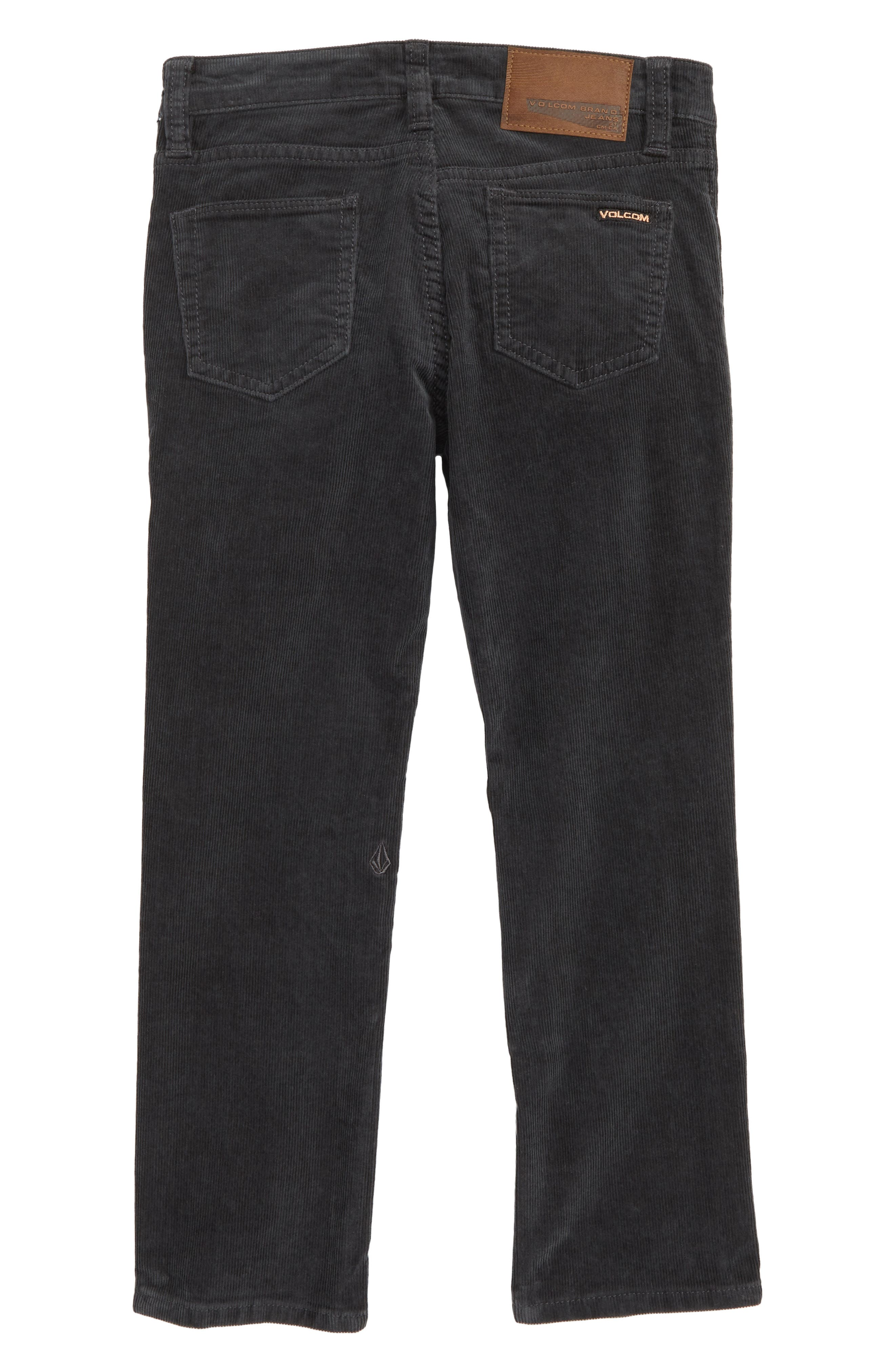 Vorta Slim Fit Corduroy Jeans,                             Alternate thumbnail 2, color,                             STEALTH
