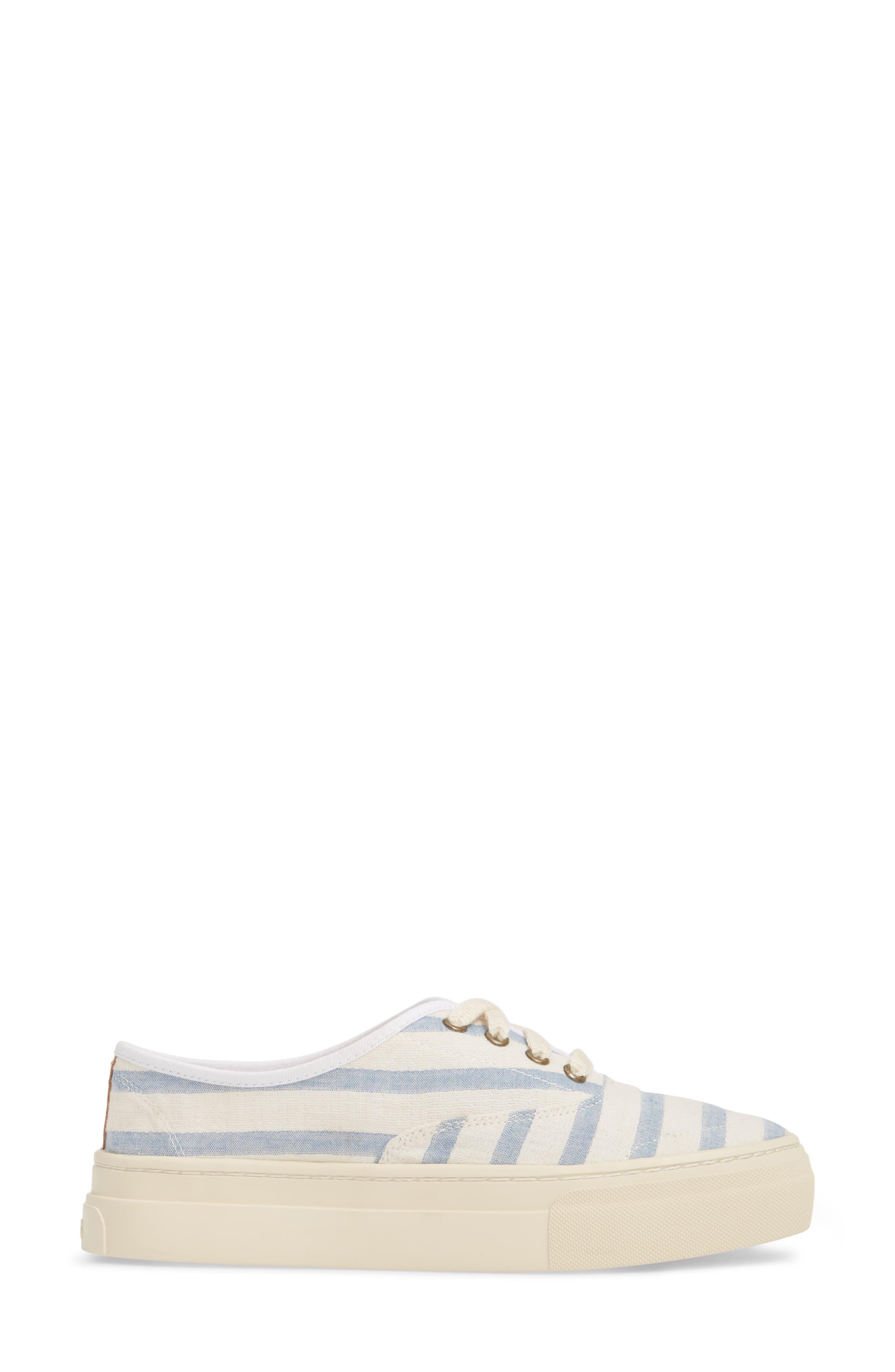 Platform Stripe Sneaker,                             Alternate thumbnail 3, color,