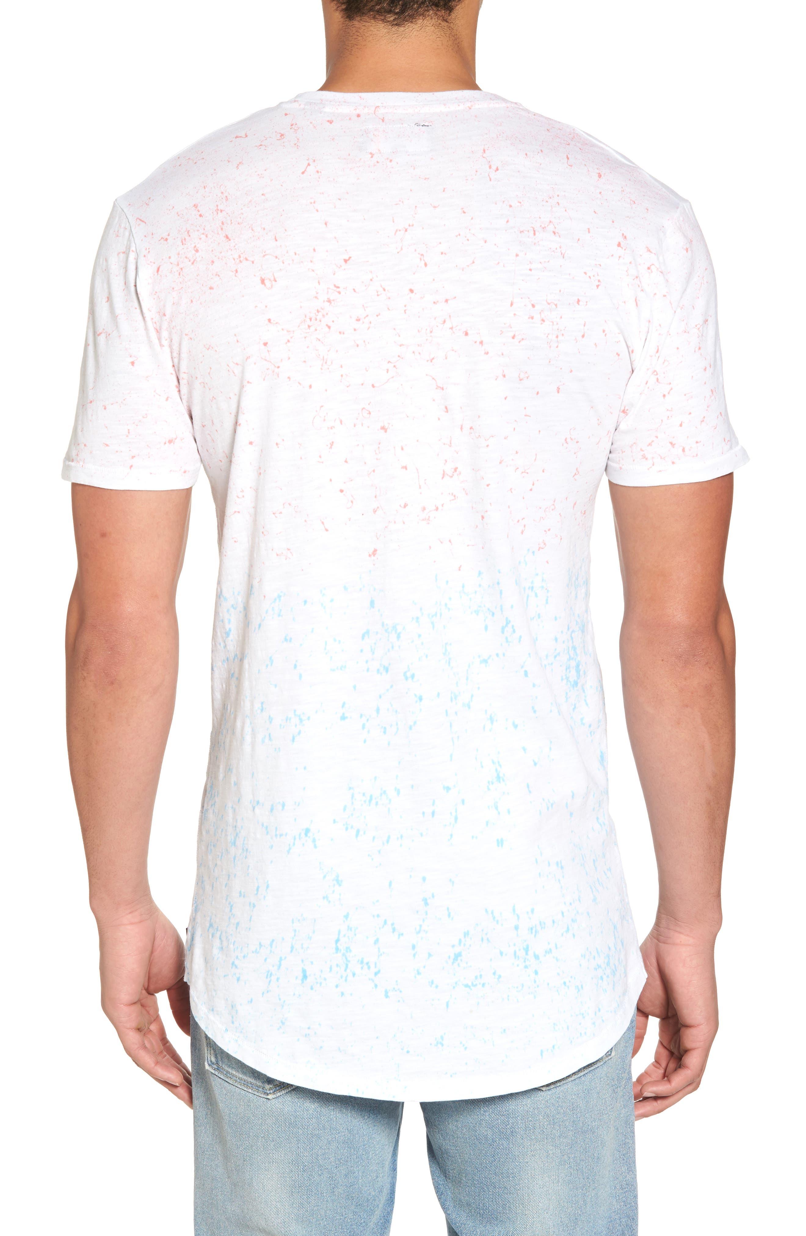 Tropics Longline T-Shirt,                             Alternate thumbnail 2, color,