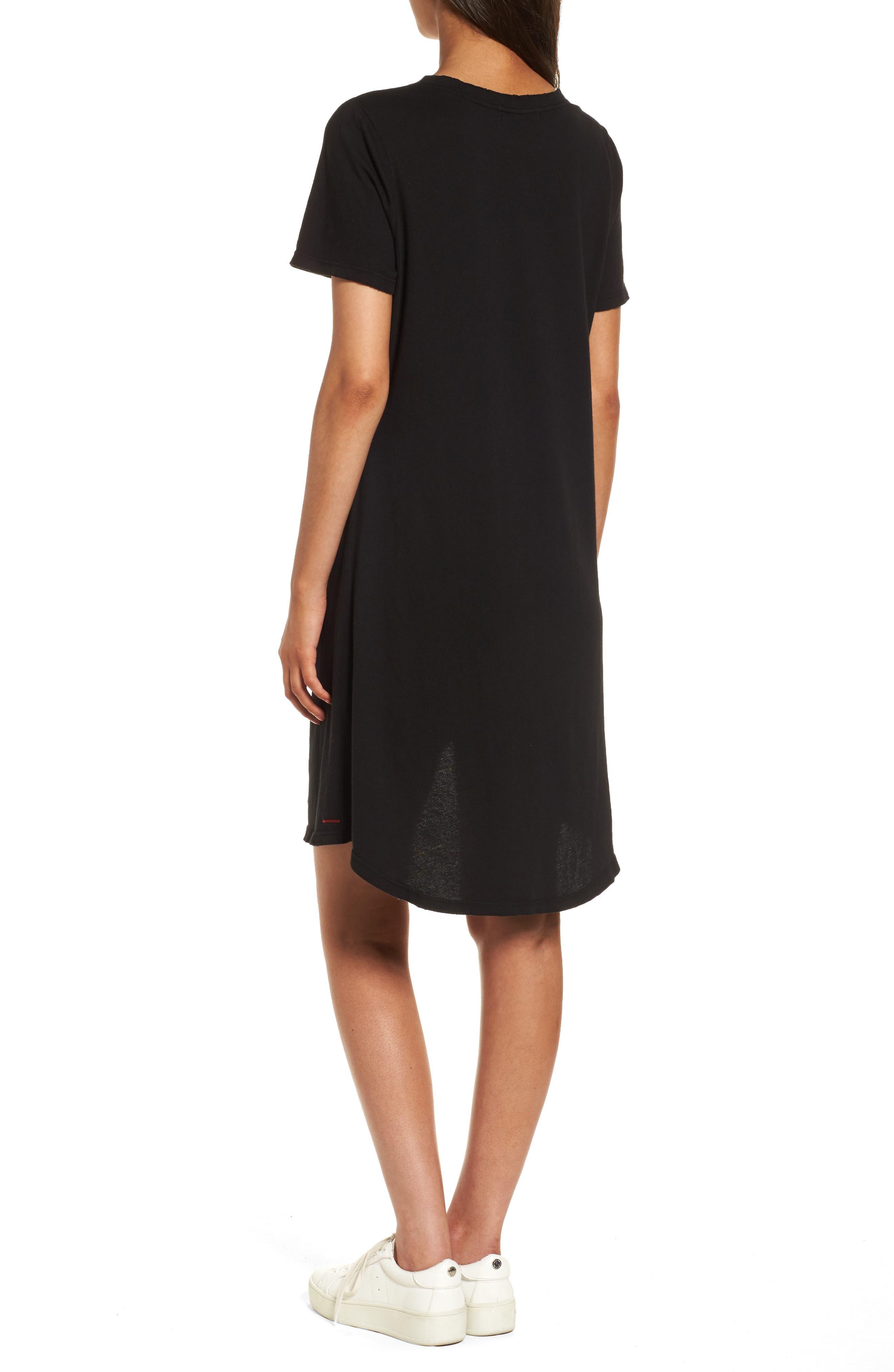 n: PHILANTHROPY Morrison T-Shirt Dress,                             Alternate thumbnail 2, color,                             001