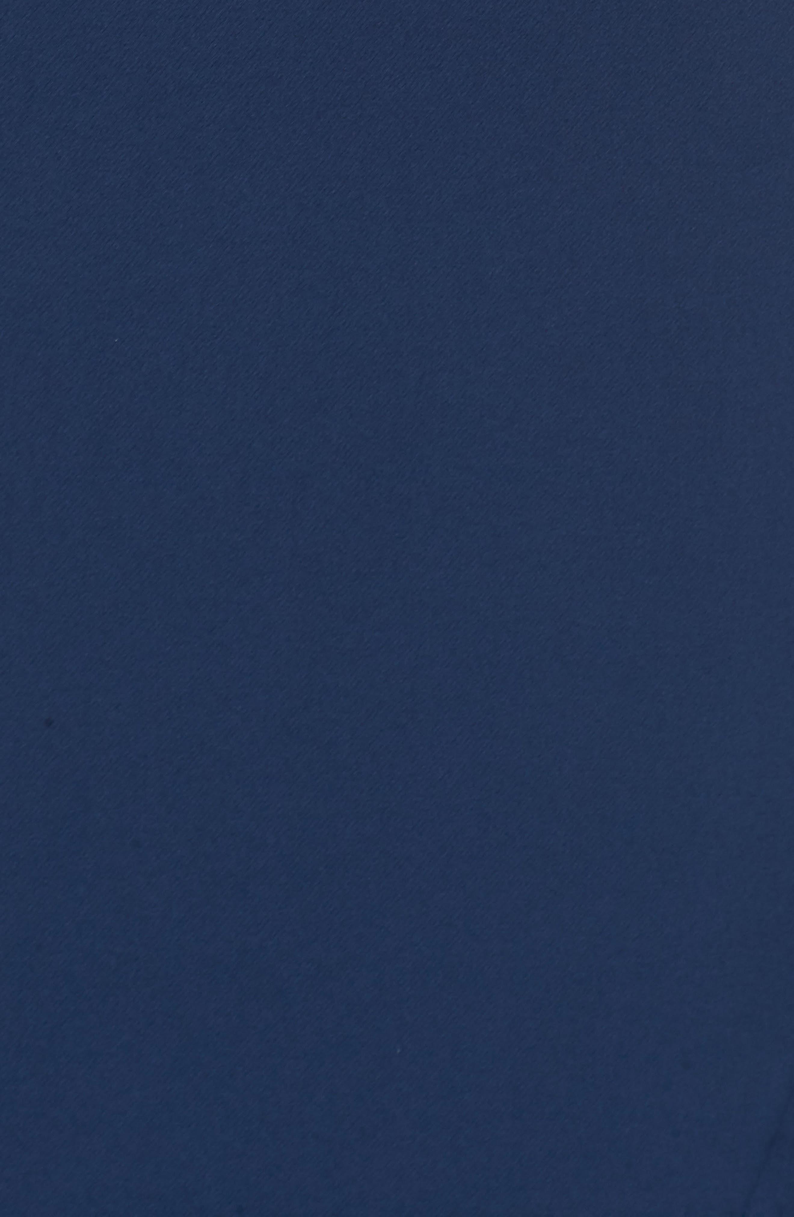 Laguna Faux Wrap Gown,                             Alternate thumbnail 6, color,                             BLUE