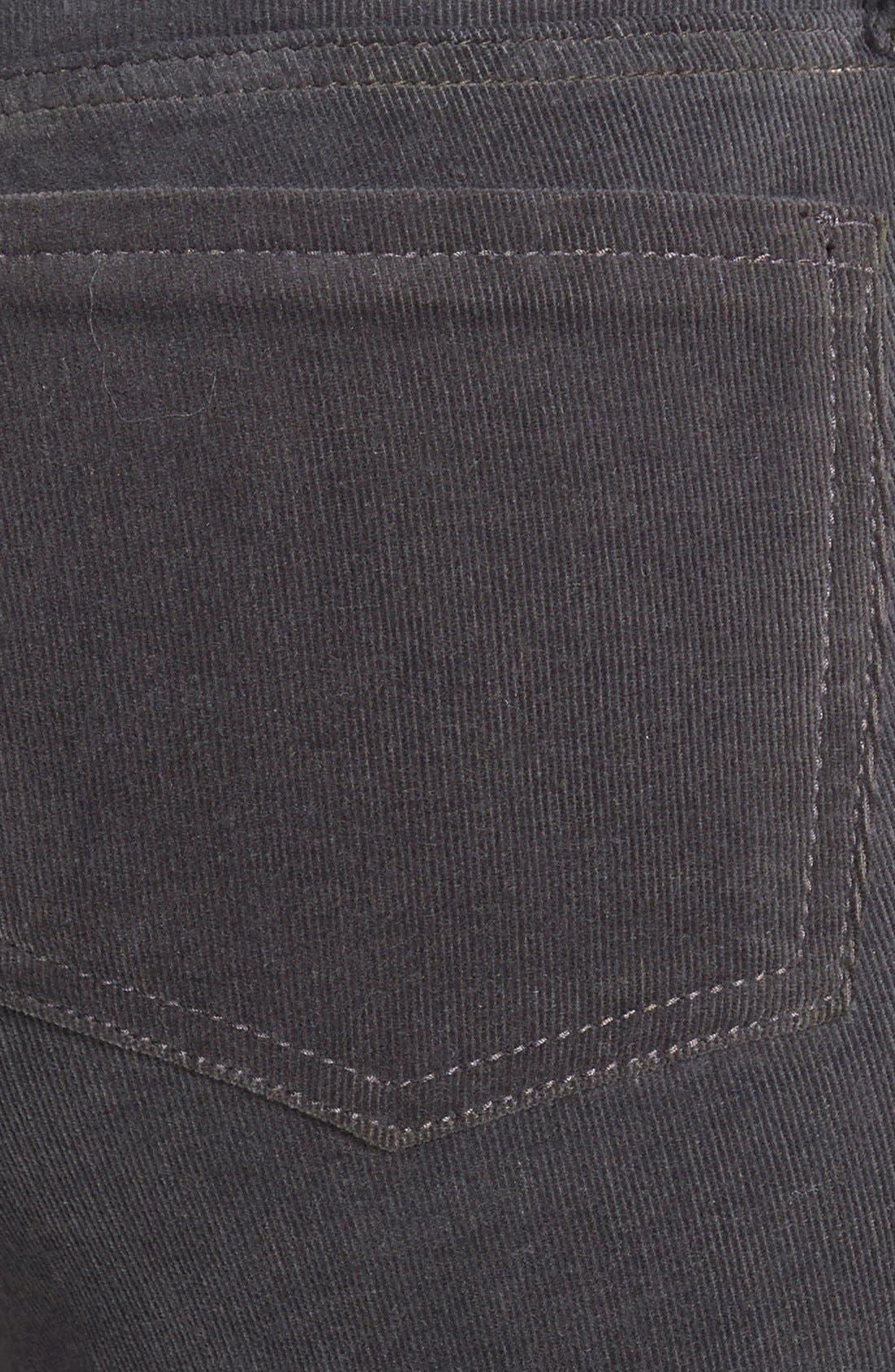 'Diana' Stretch Corduroy Skinny Pants,                             Alternate thumbnail 210, color,